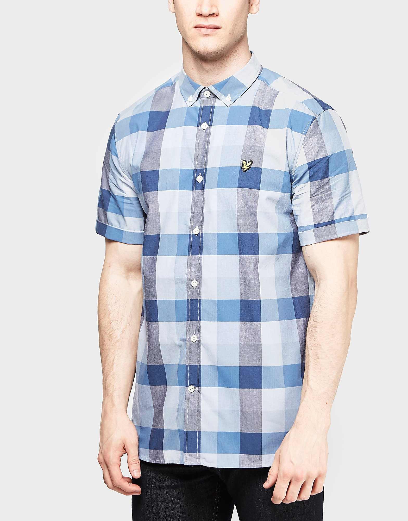 Lyle & Scott Bold Check Short Sleeve Shirt