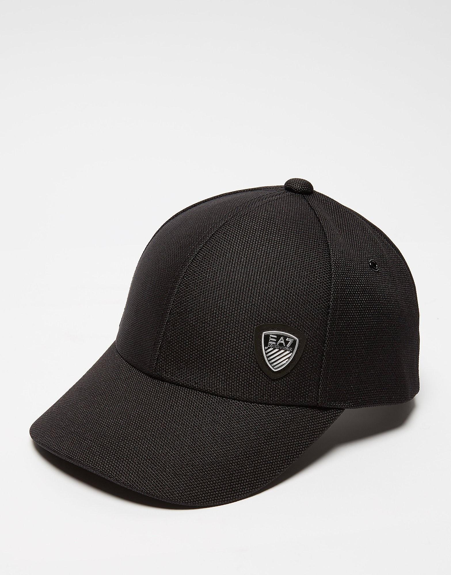 Emporio Armani EA7 Soccer Cap  Black Black