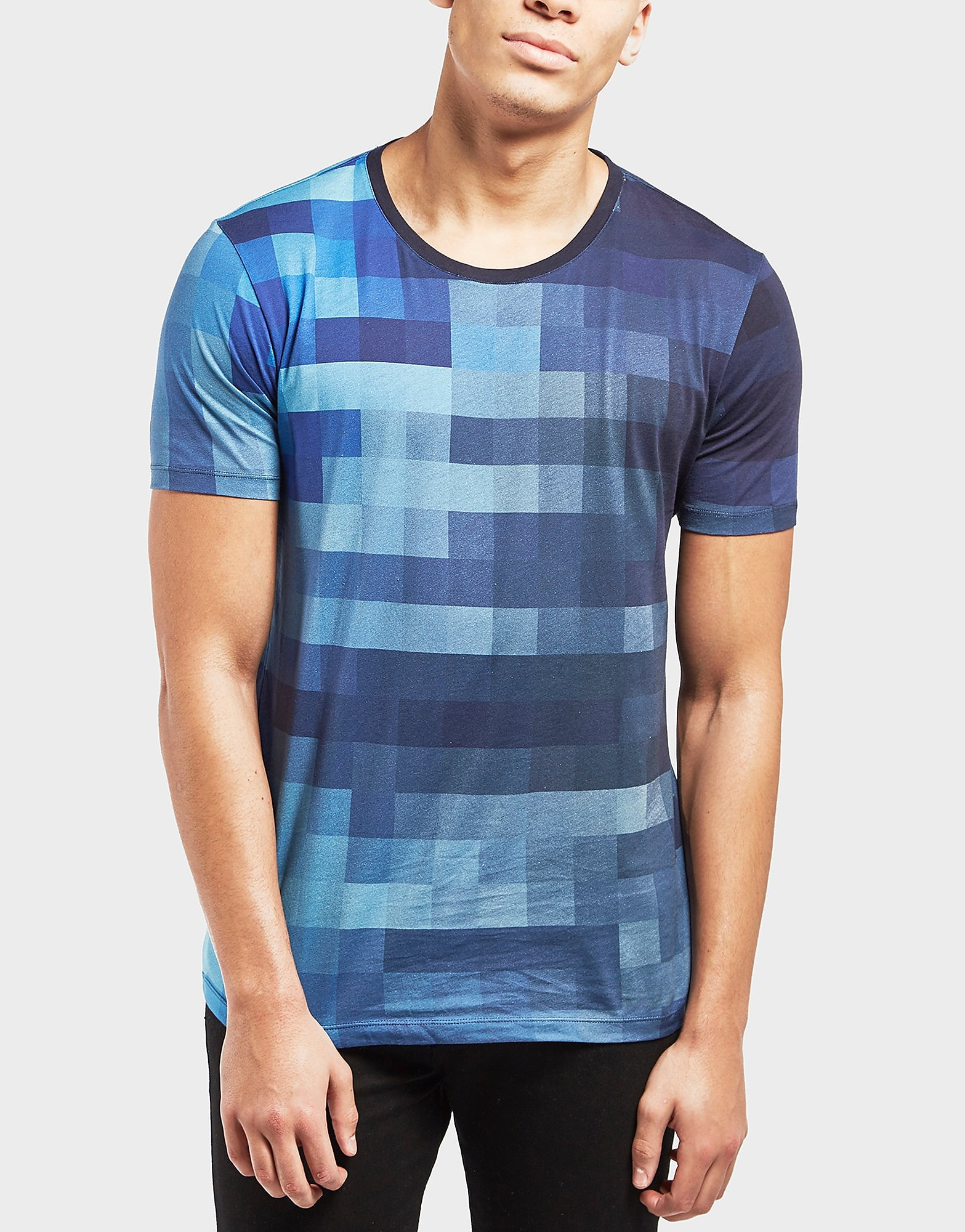 HUGO Geometric Print Short Sleeve T-Shirt