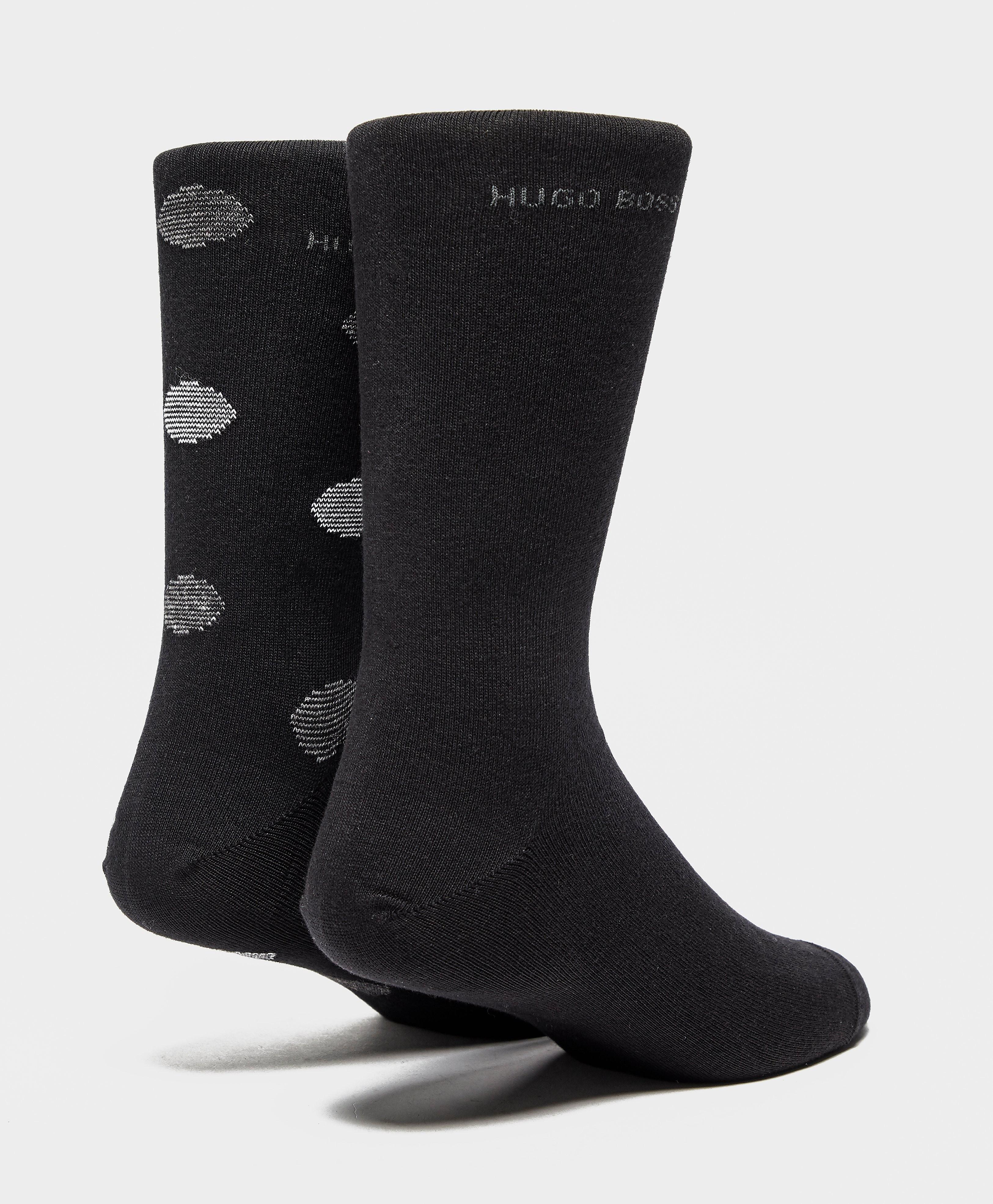BOSS 2 Pack Spot Socks
