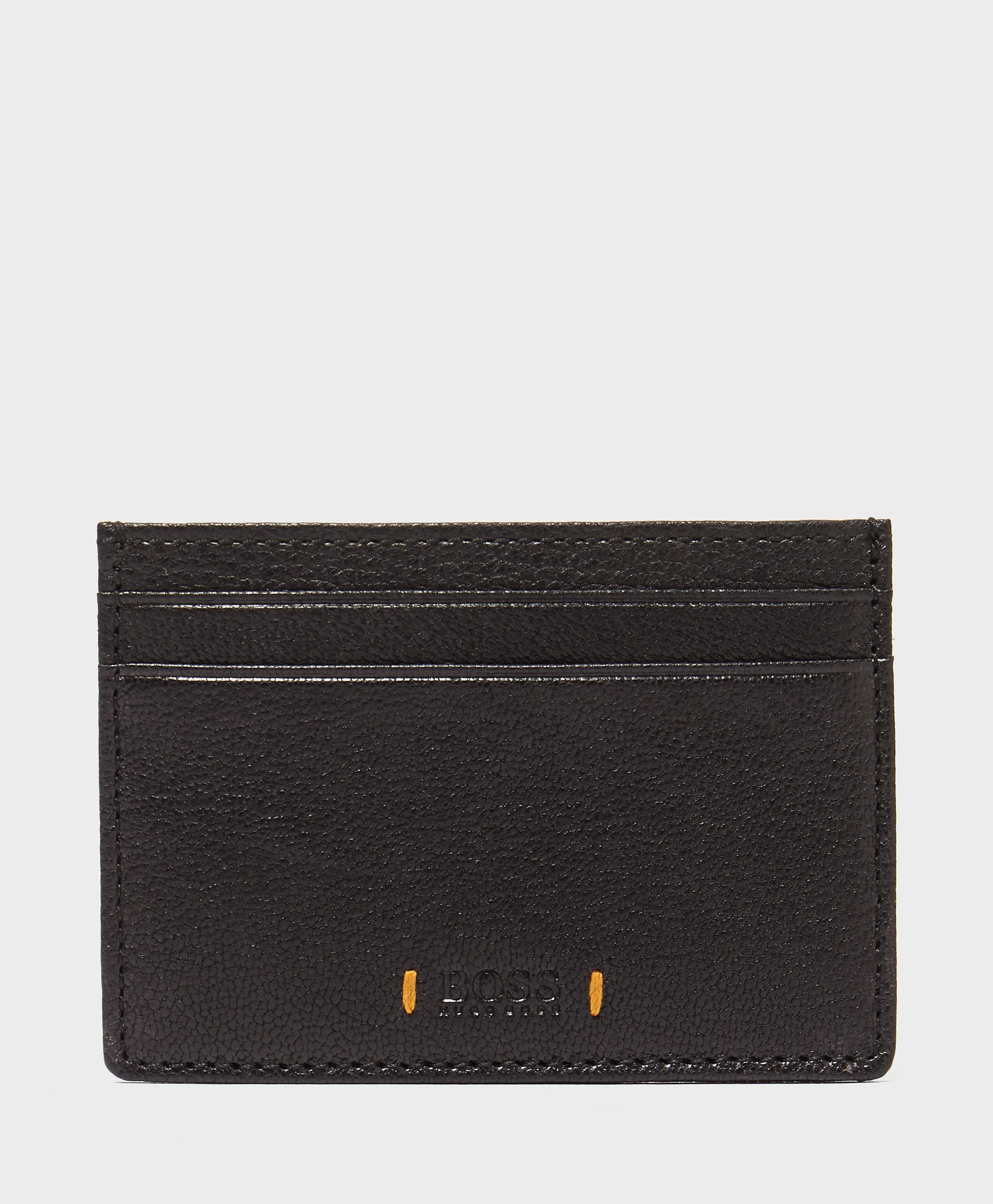 BOSS Orange Leather Card Case