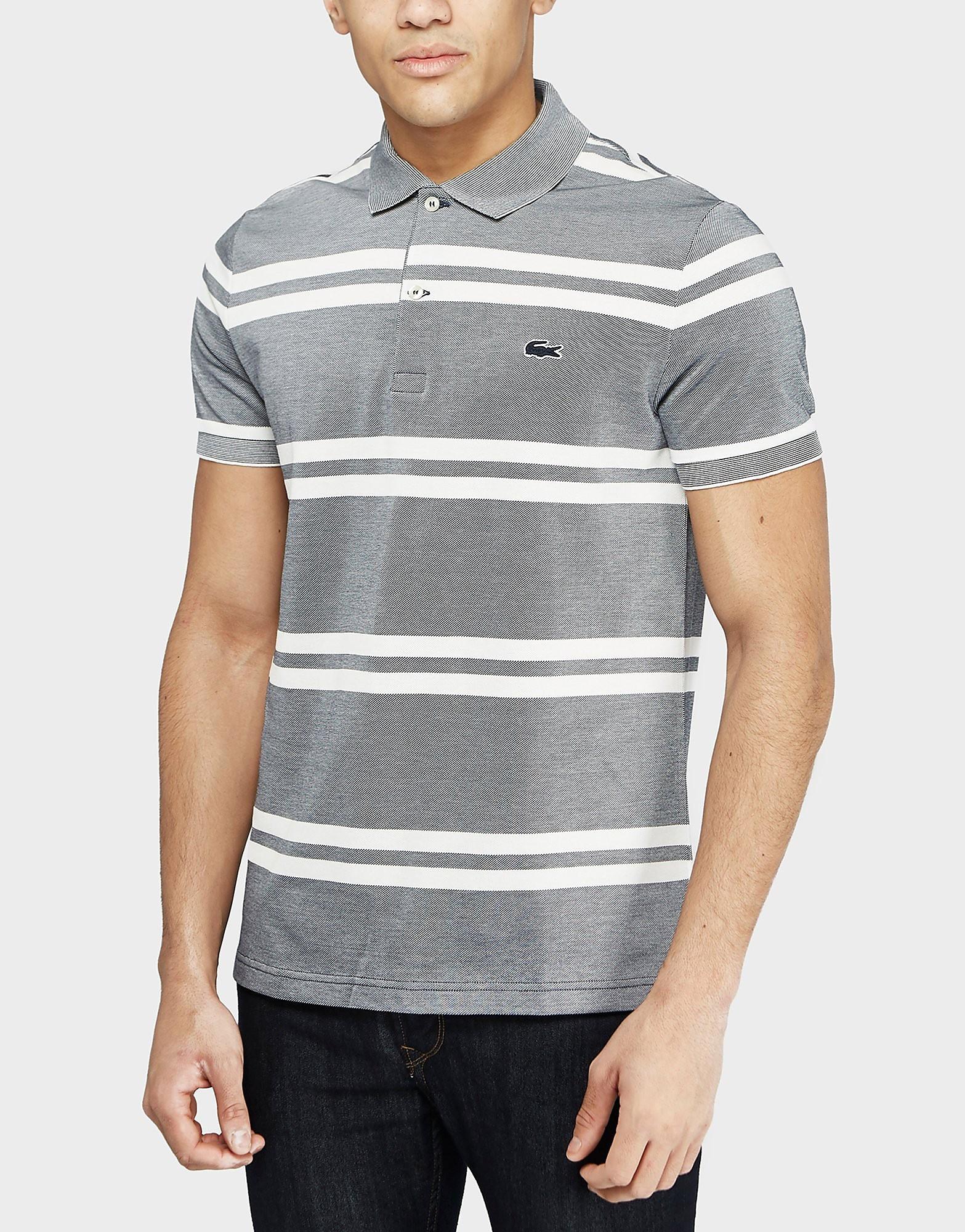 Lacoste Birds Stripe Polo Shirt