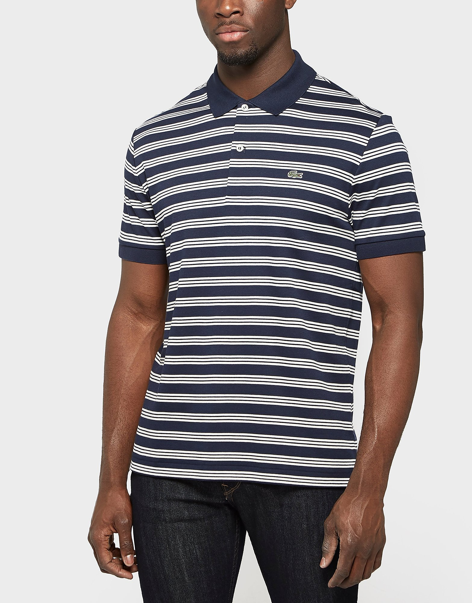Lacoste Stripe Polo Shirt