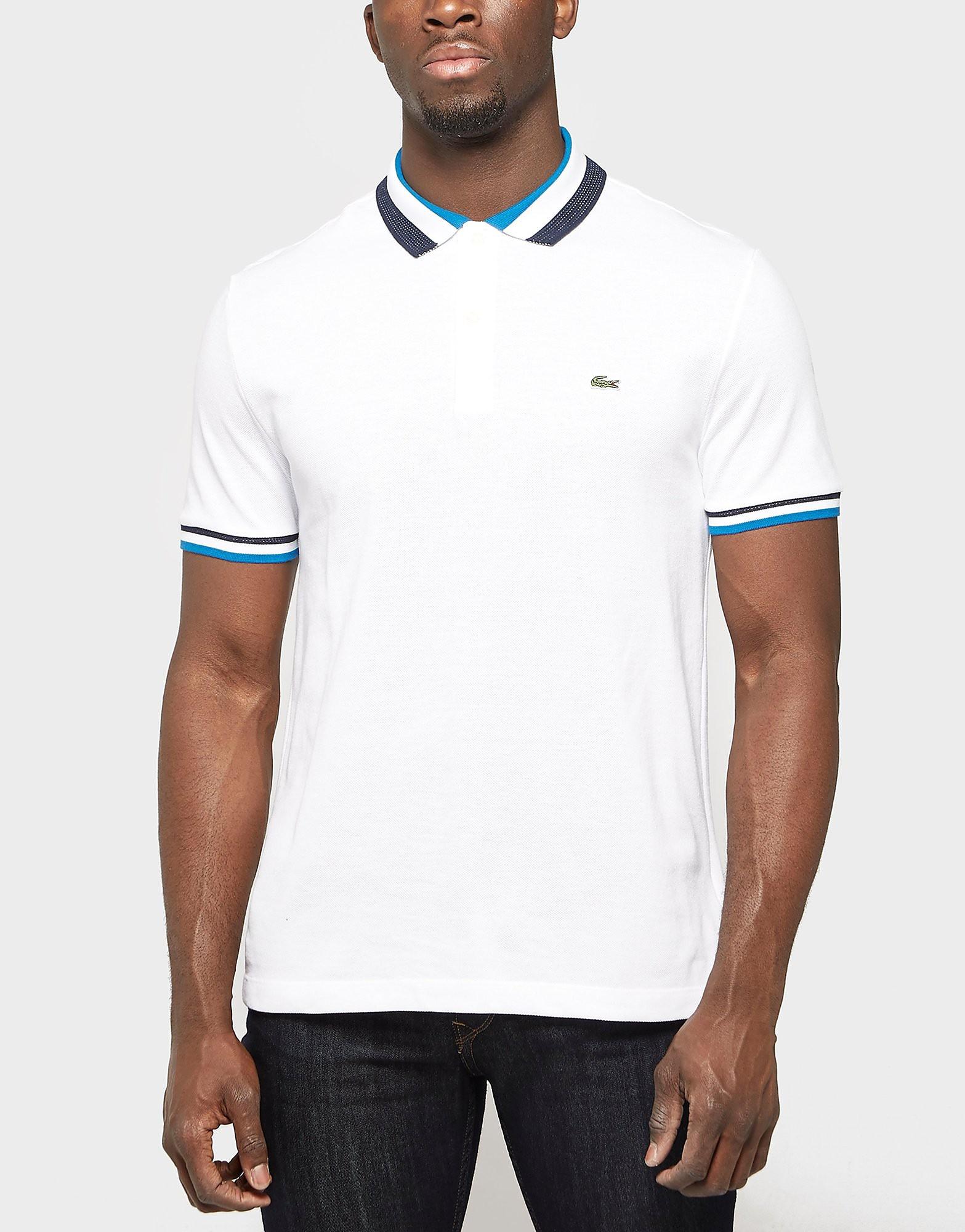 Lacoste Collar Stripe Polo Shirt