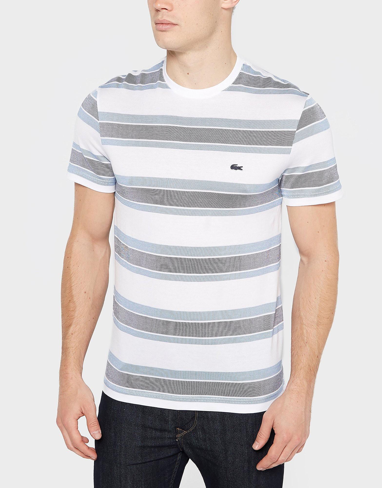 Lacoste Jacquard Stripe T-Shirt