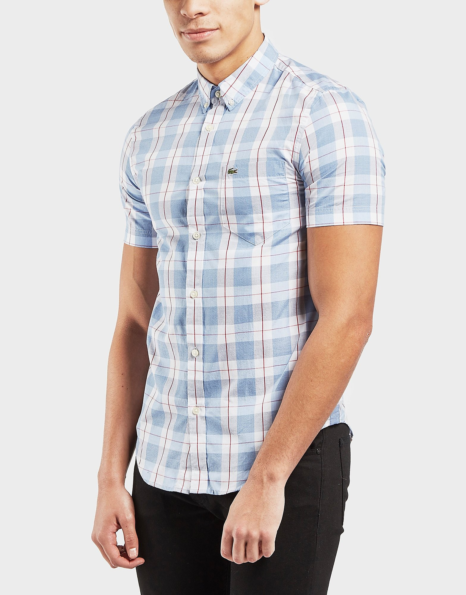 Lacoste Block Check Shirt