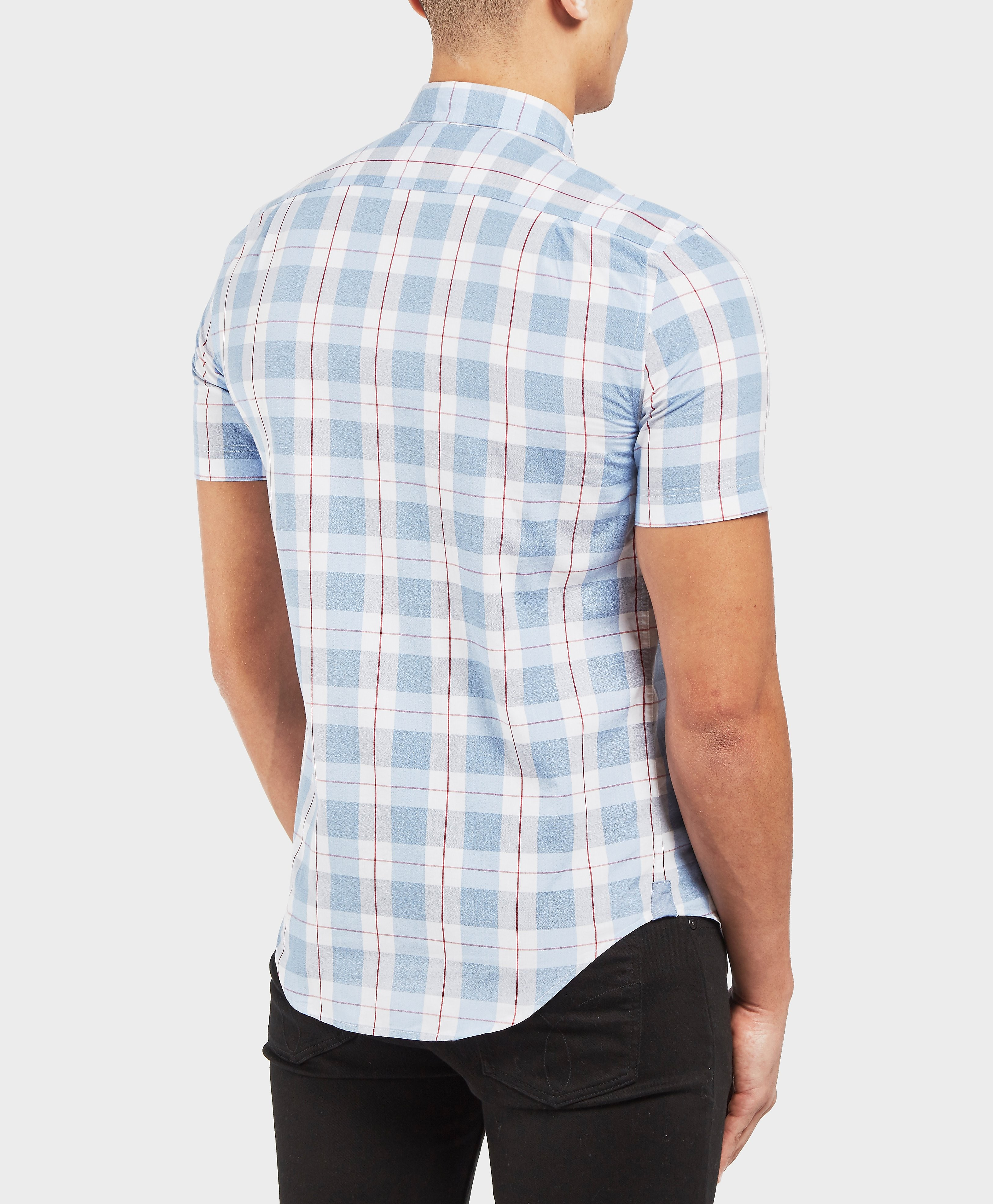 Lacoste Block Check Short Sleeve Shirt