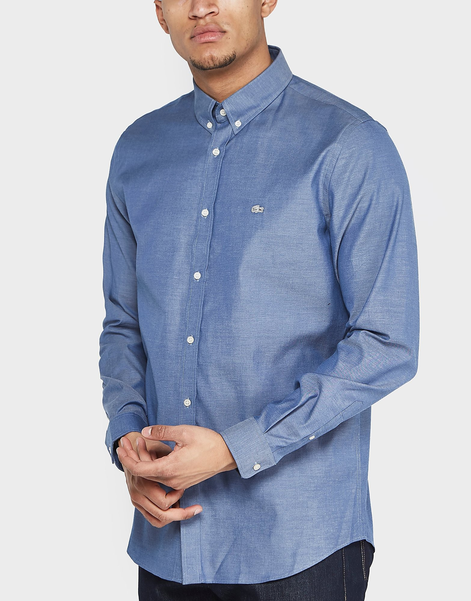 Lacoste City Chambray Short Sleeve Shirt