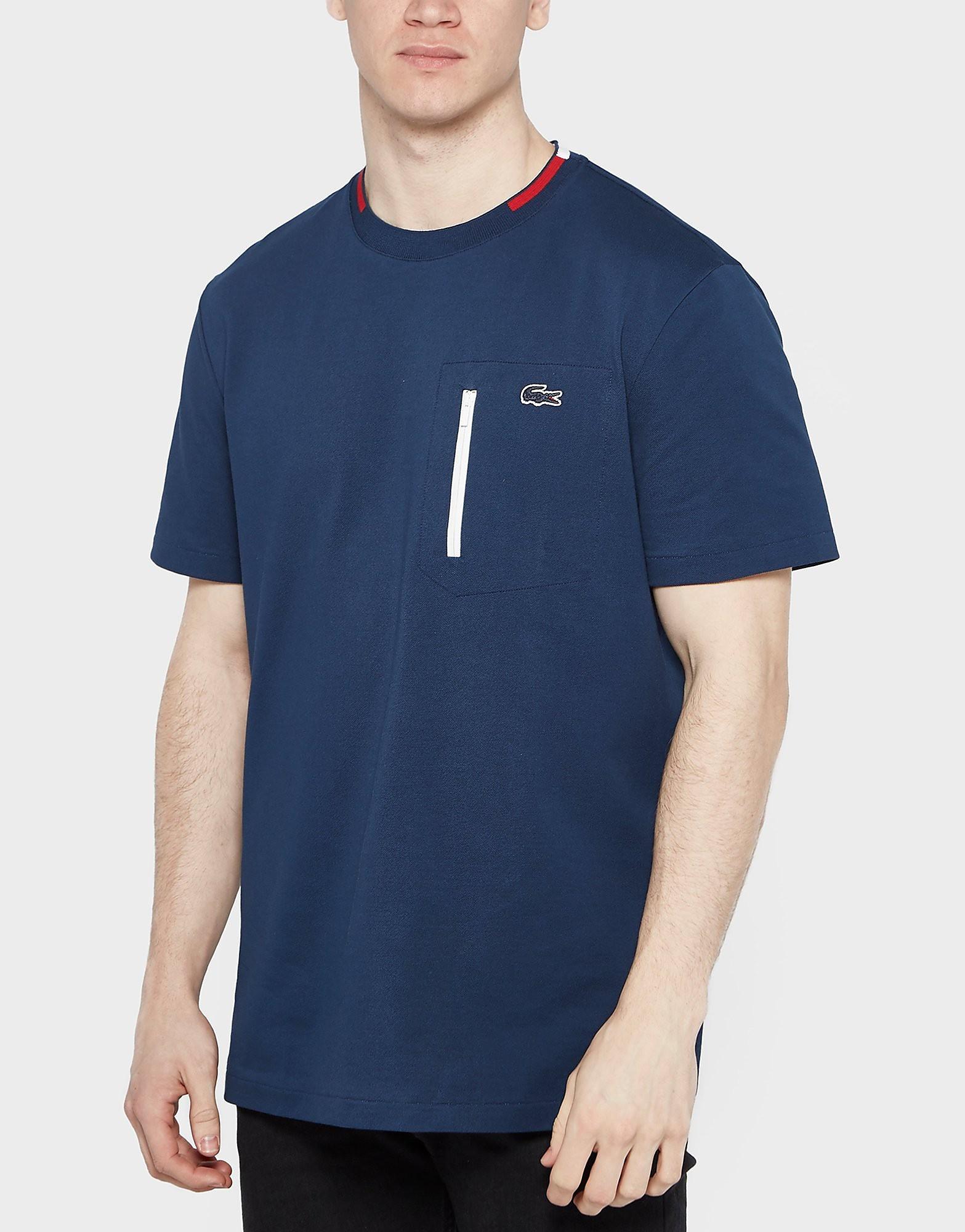 Lacoste Zip Pocket T-Shirt