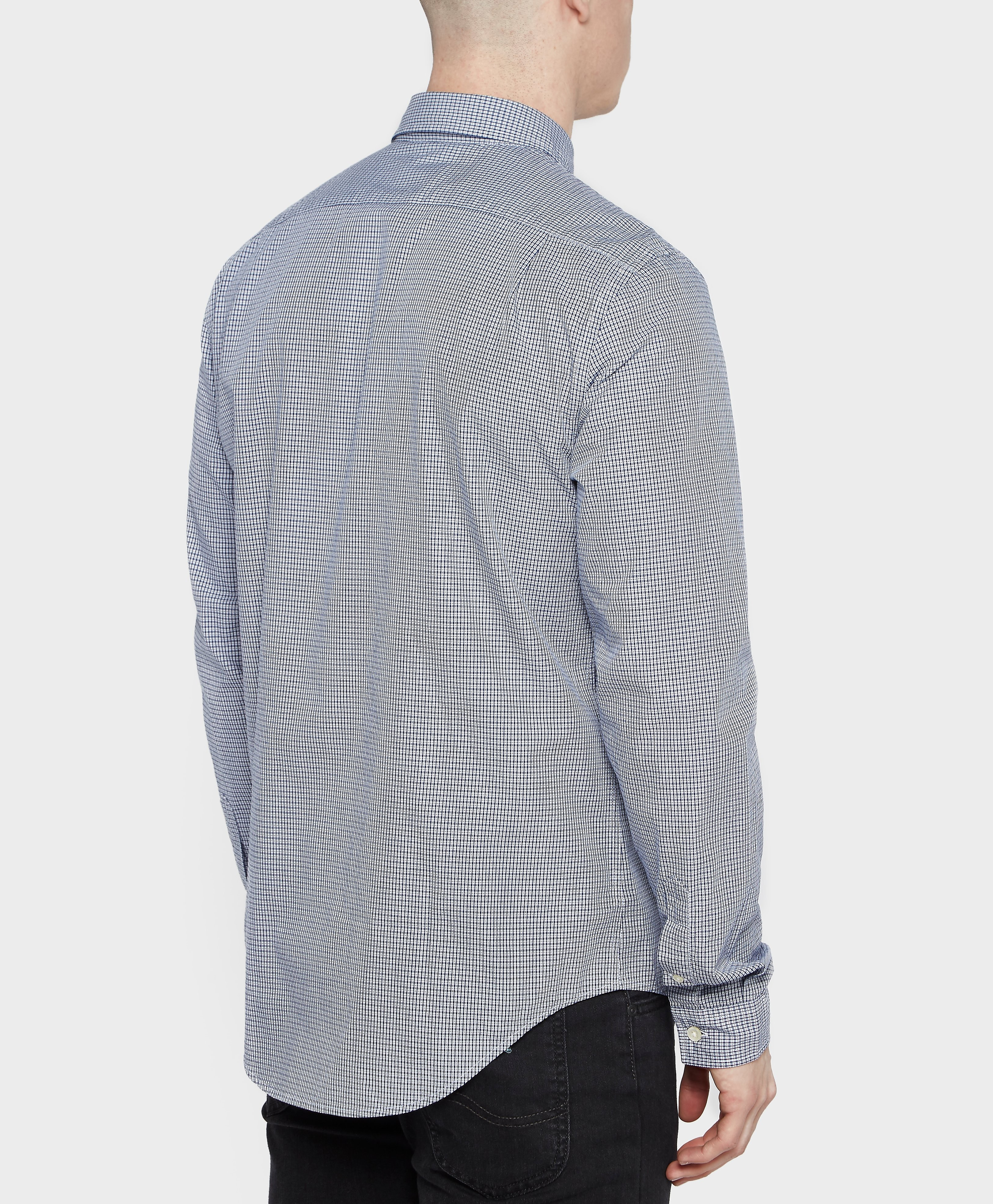 Lacoste Poplin Check Shirt