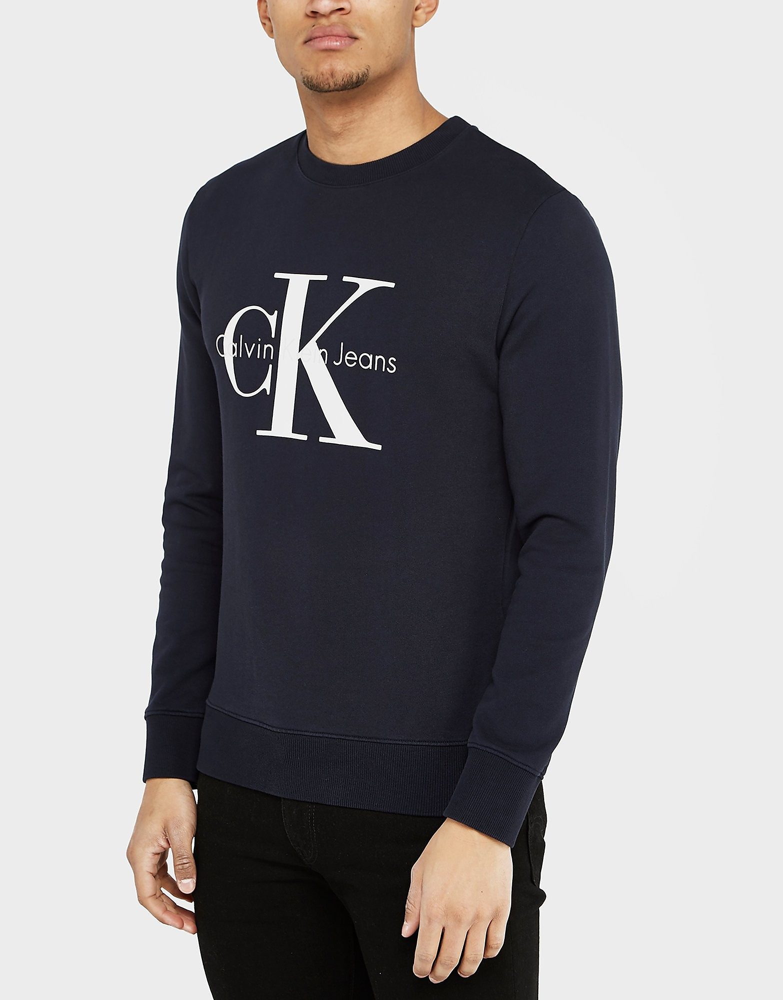 Calvin Klein Logo Sweatshirt  Navy Navy