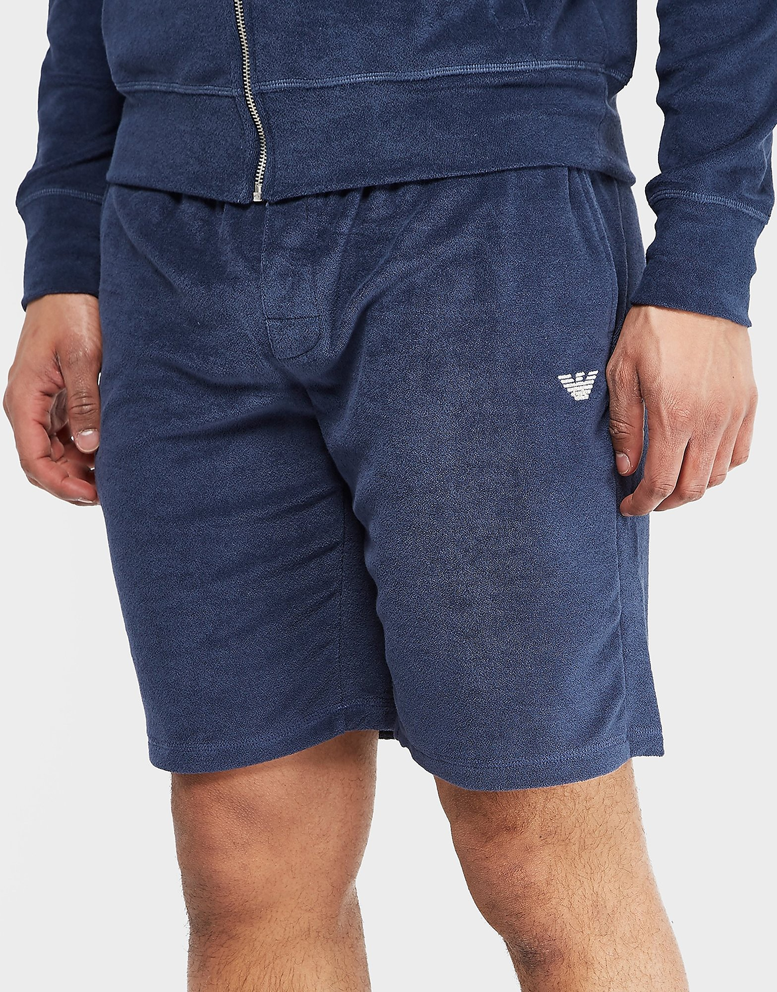 Emporio Armani Velour Fleece Short