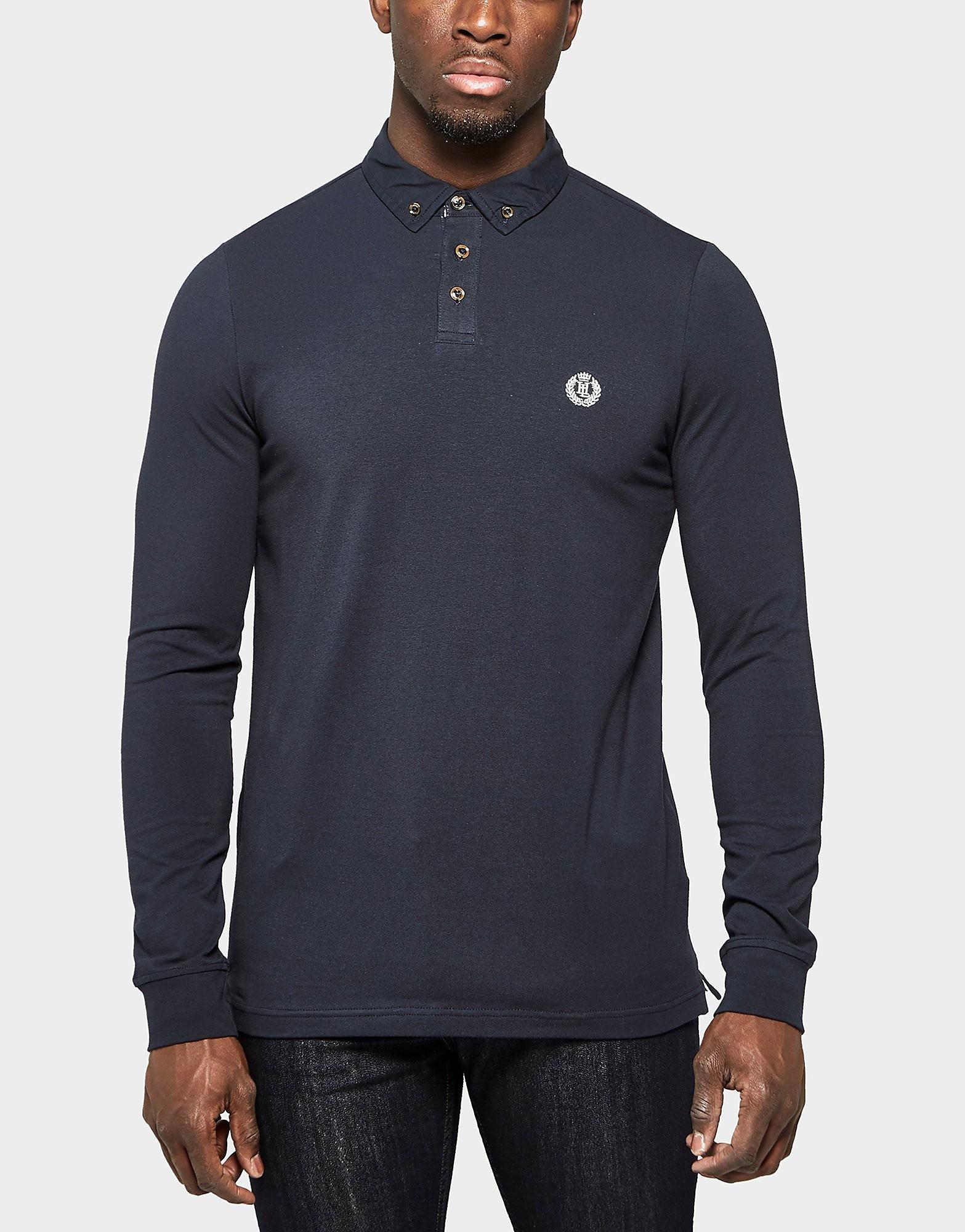 Henri Lloyd Adel Long Sleeve Polo Shirt  Navy Navy