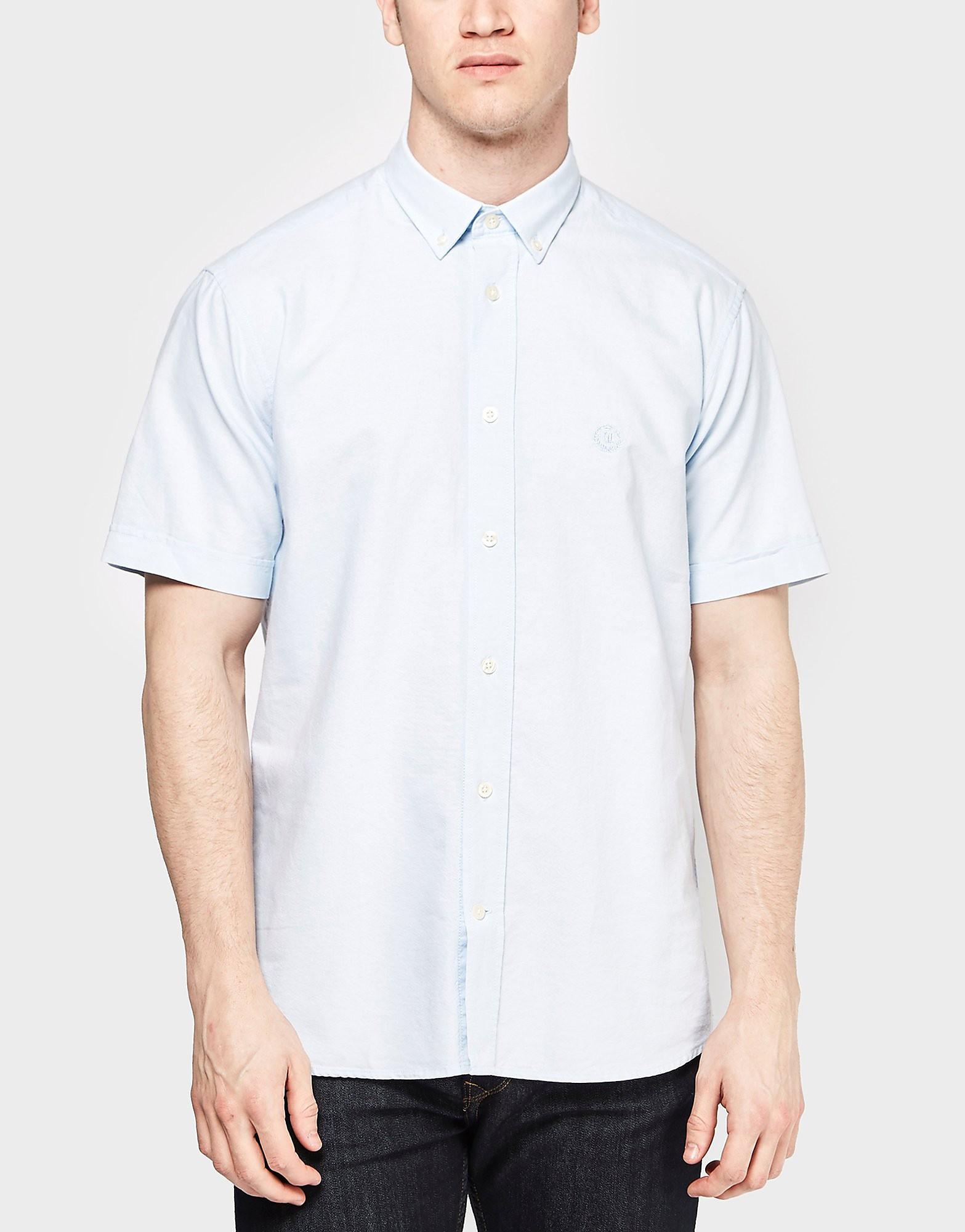 Henri Lloyd Short Sleeve Oxford Shirt  Sky Sky