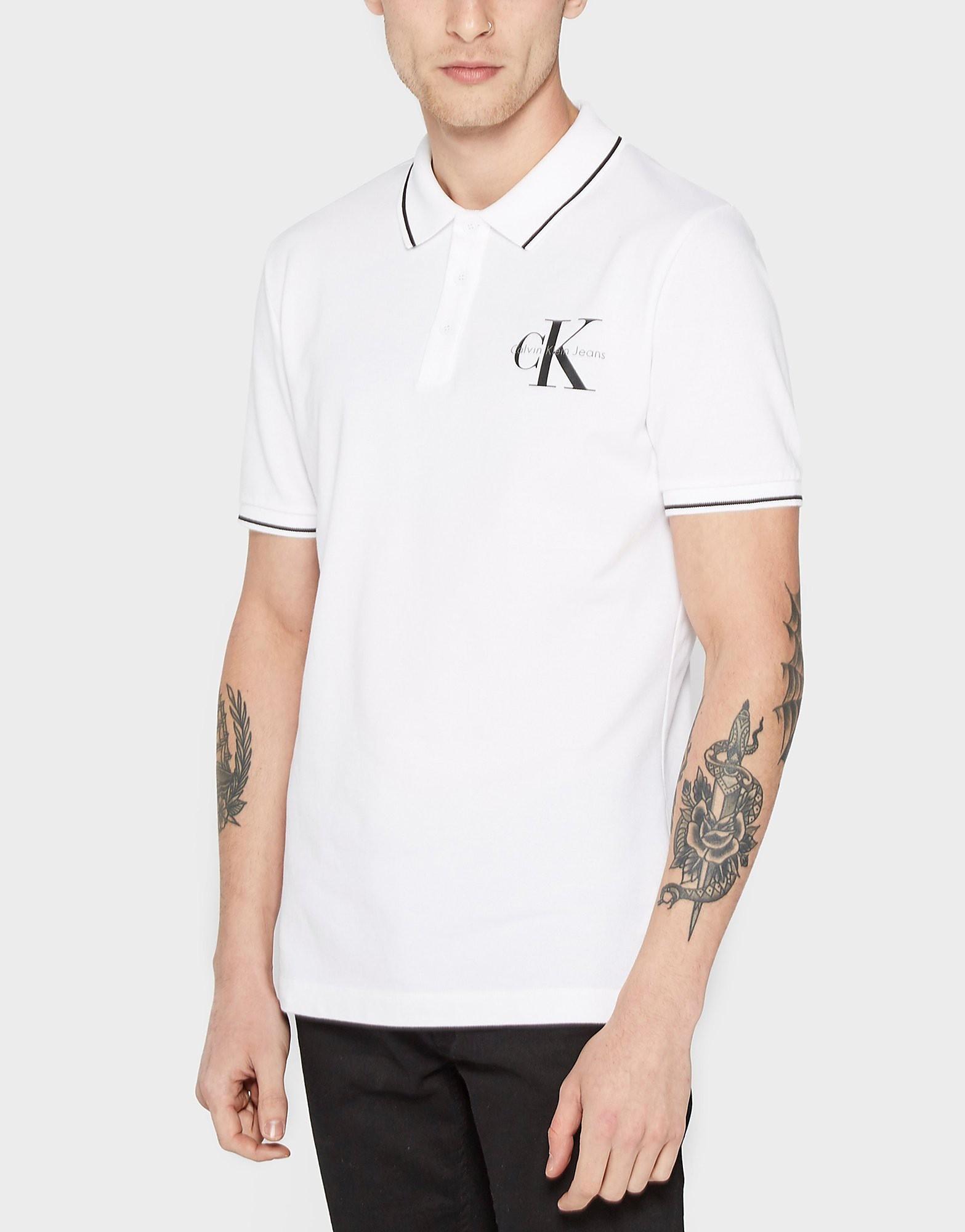Calvin Klein Chest Logo Polo Shirt