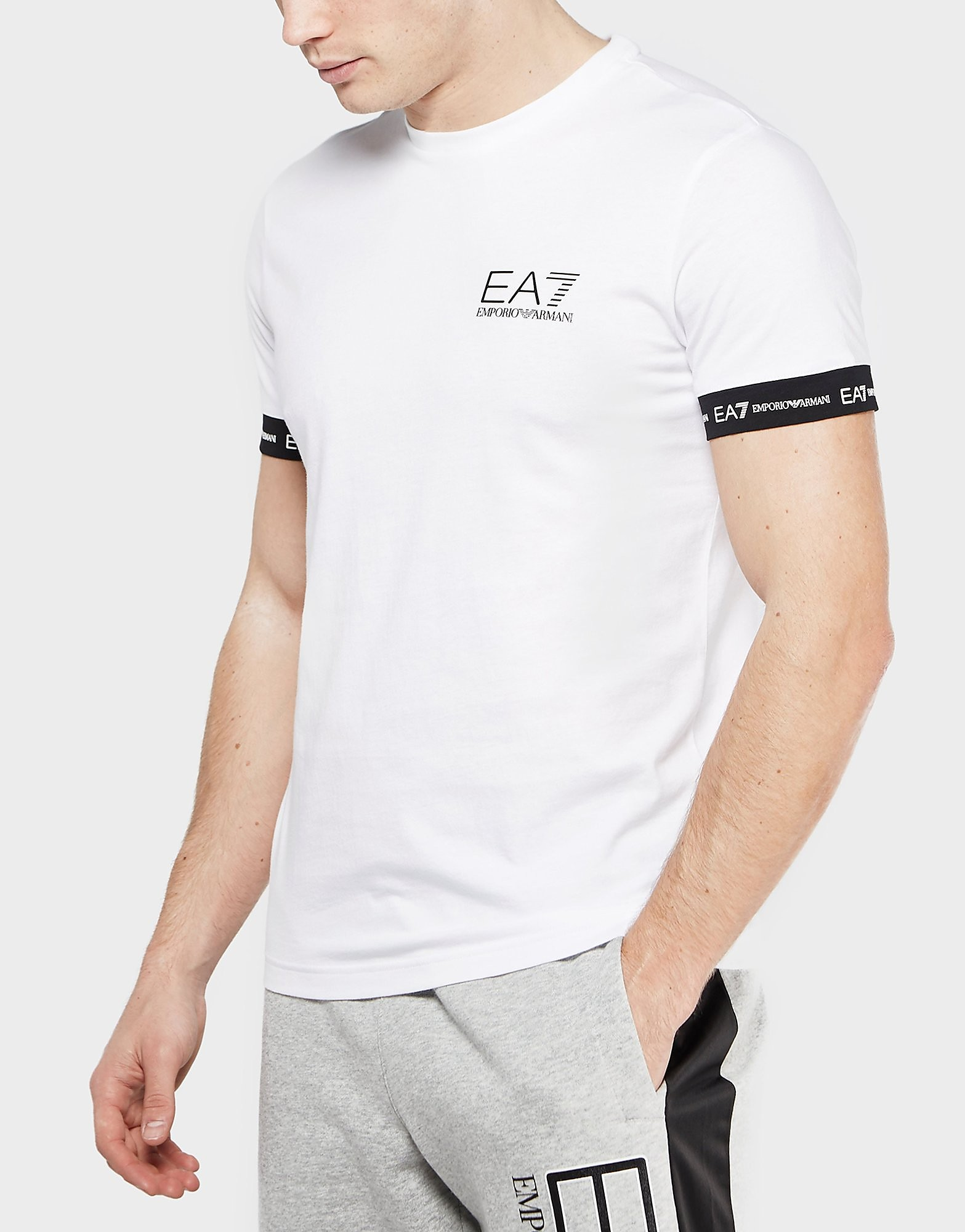Emporio Armani EA7 Sleeve Branded T-Shirt - Exclusive