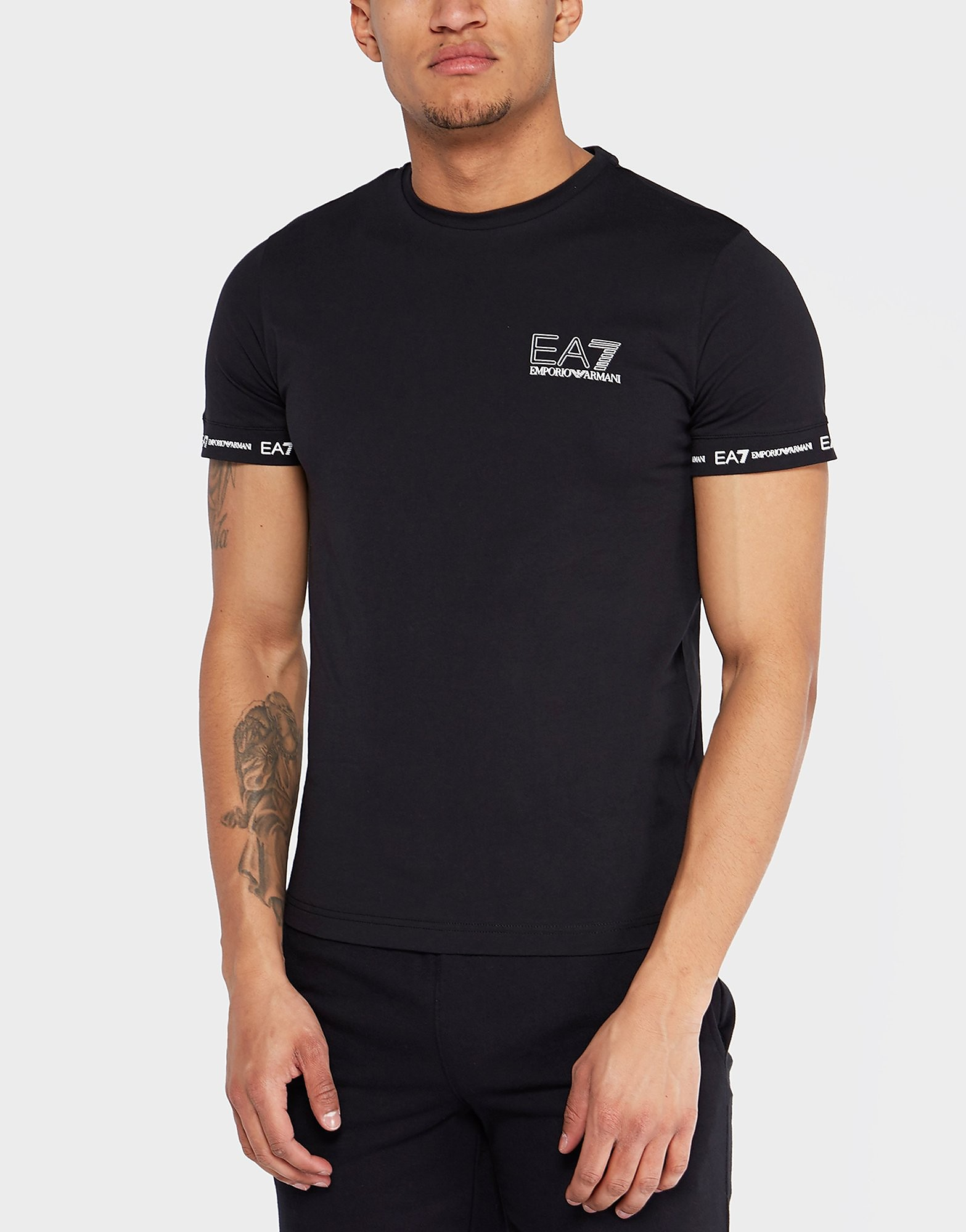 Emporio Armani EA7 Sleeve Branded Short Sleeve T-Shirt - Exclusive