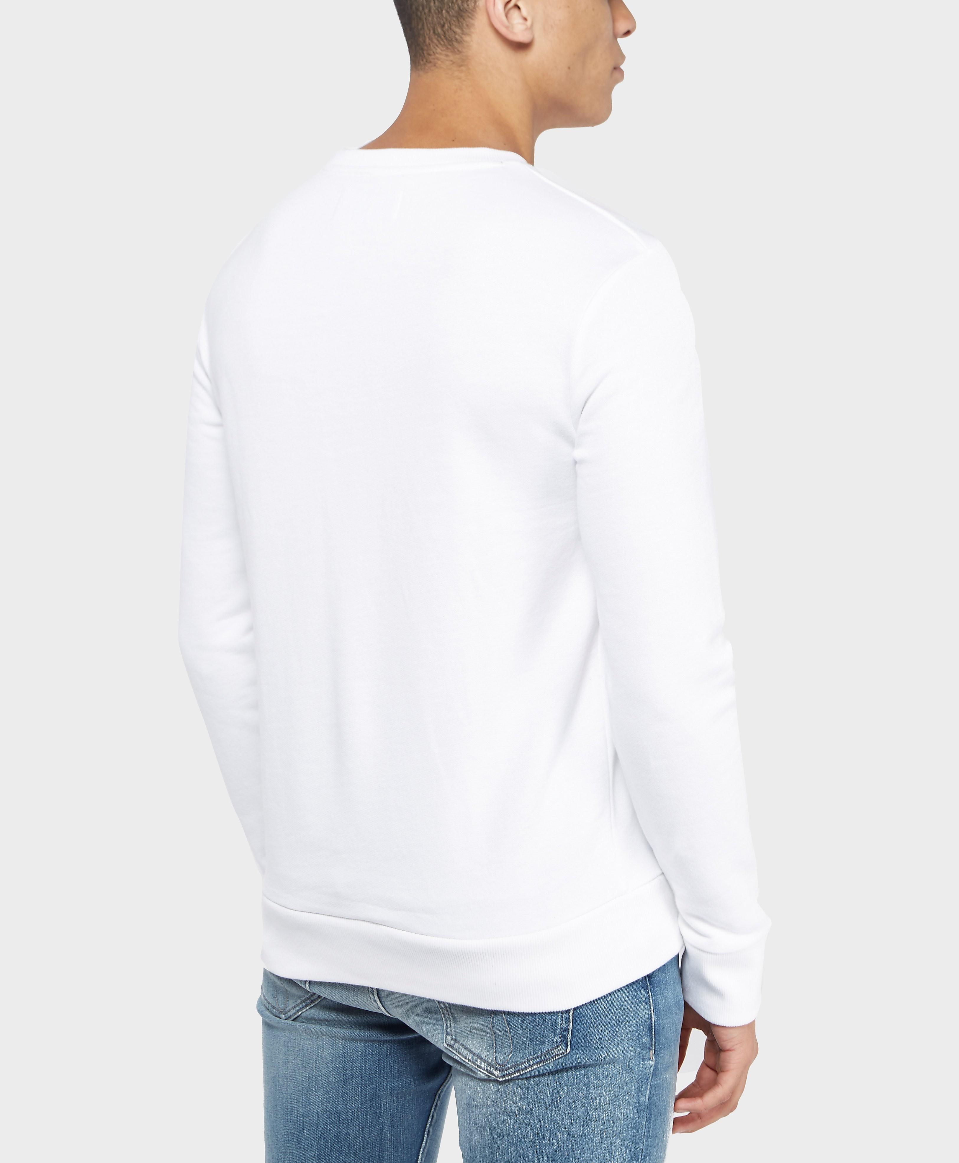 Calvin Klein Mesh Logo Crew Sweatshirt