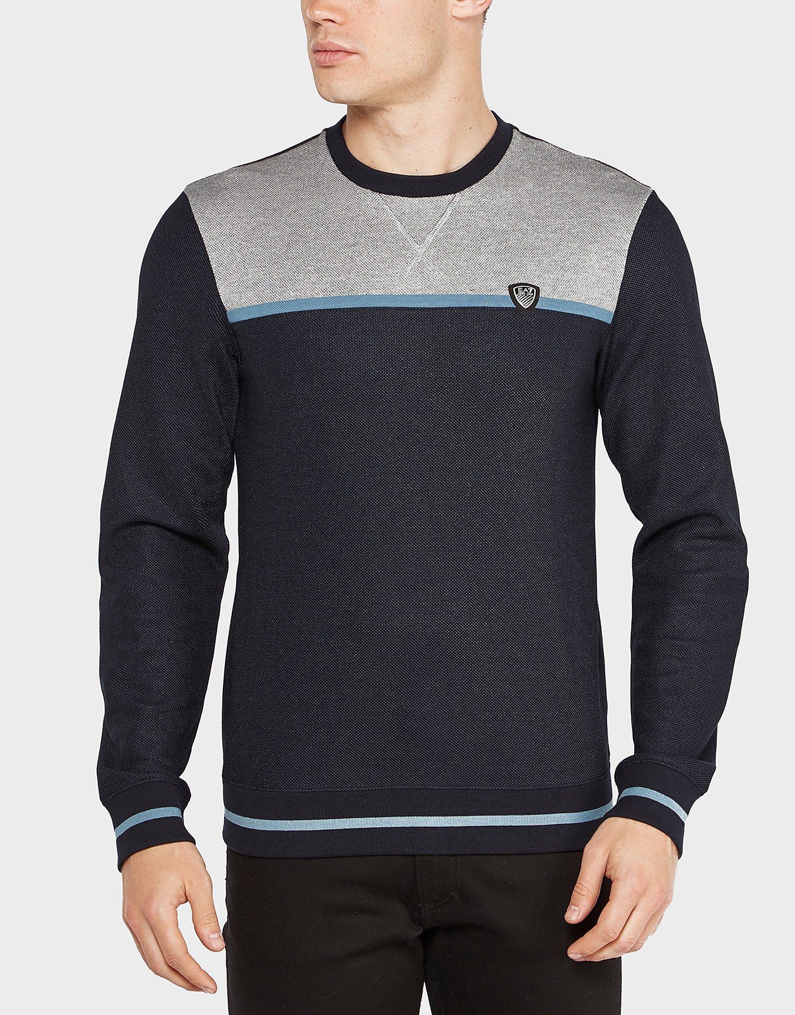 Emporio Armani EA7 Tennis Pique Crew Sweatshirt