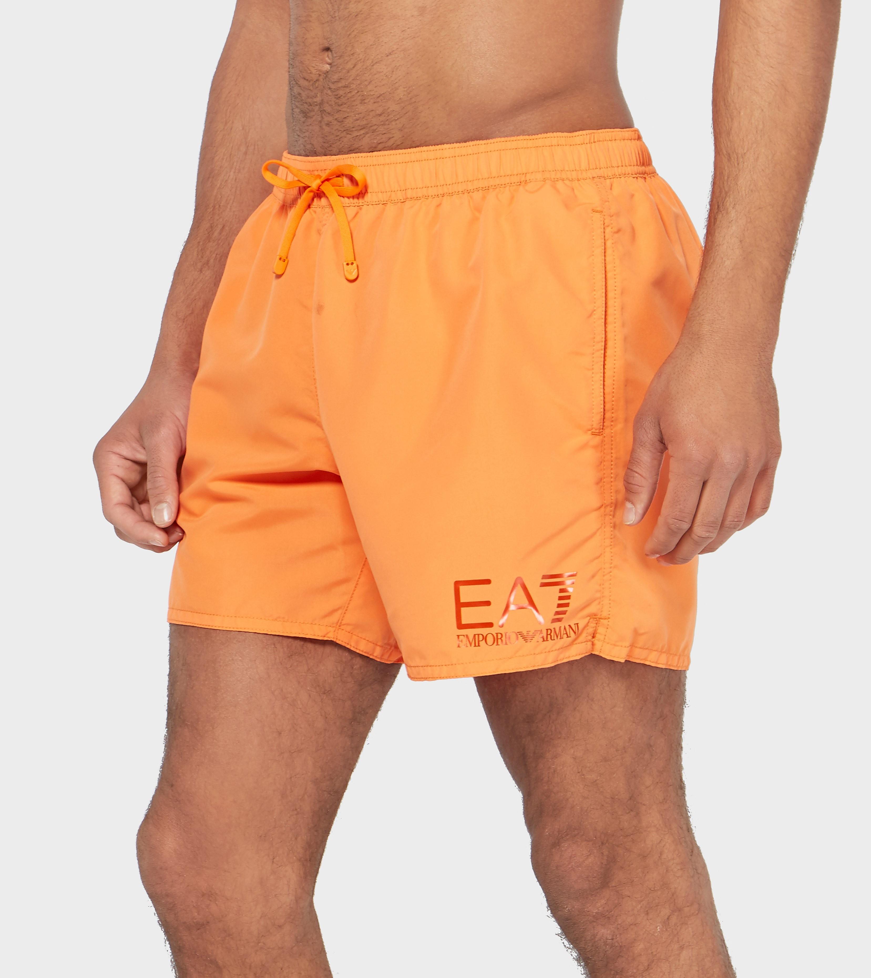 Emporio Armani EA7 Reverse Eagle Swim Shorts