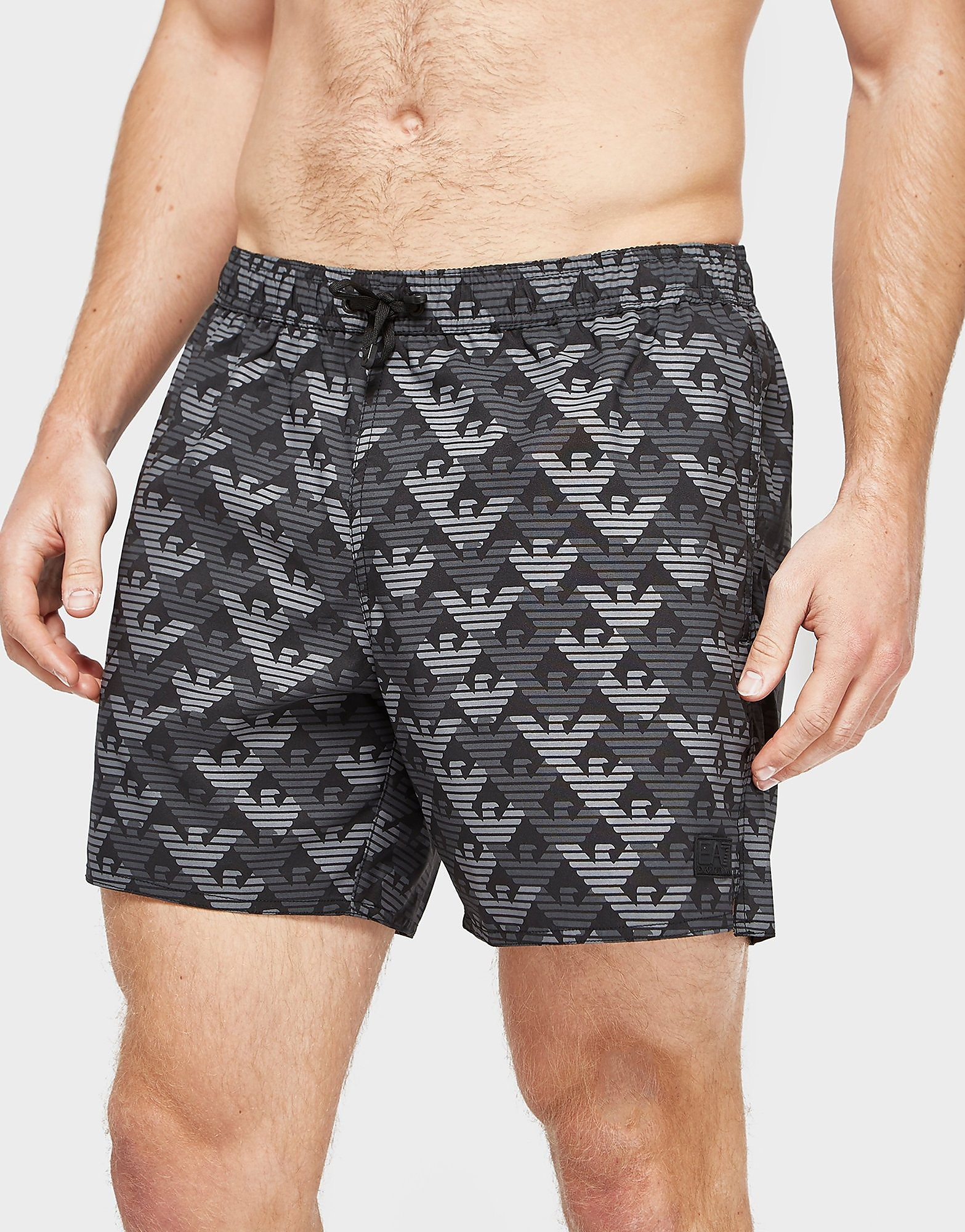 Emporio Armani EA7 Multi Eagle Swim Shorts