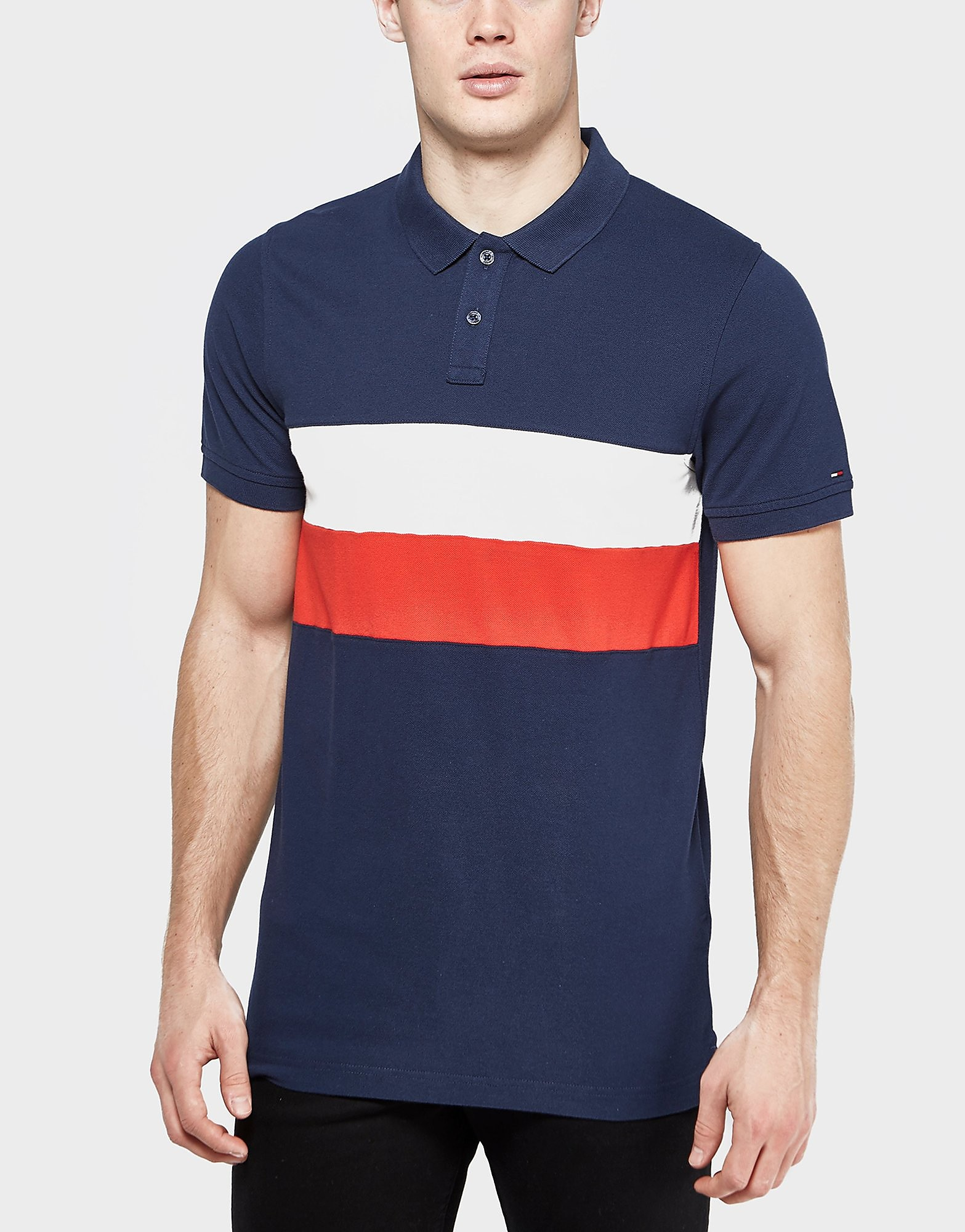 Tommy Hilfiger Block Flag Polo Shirt