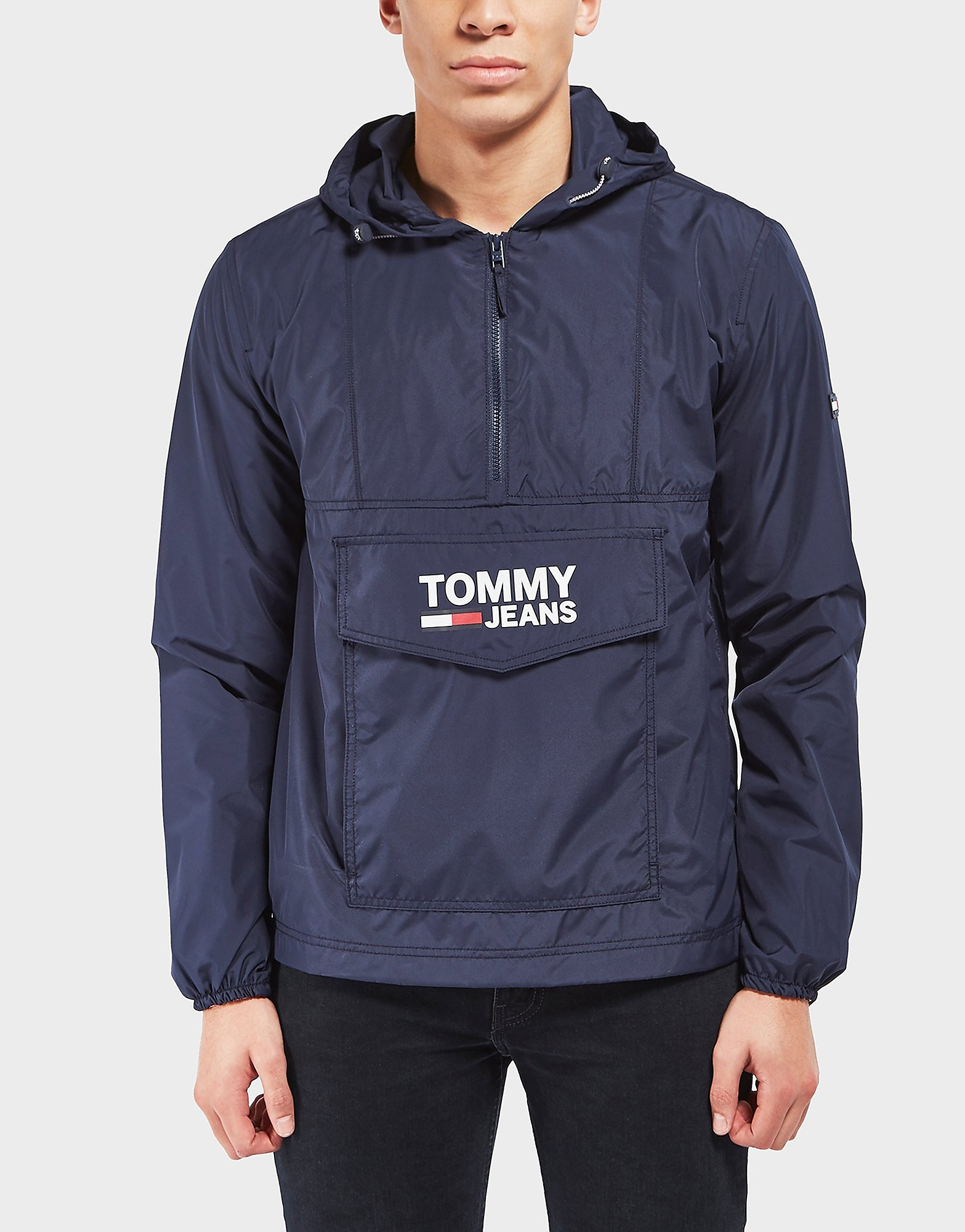 Tommy Hilfiger Overhead Lightweight Anorak  Navy Navy