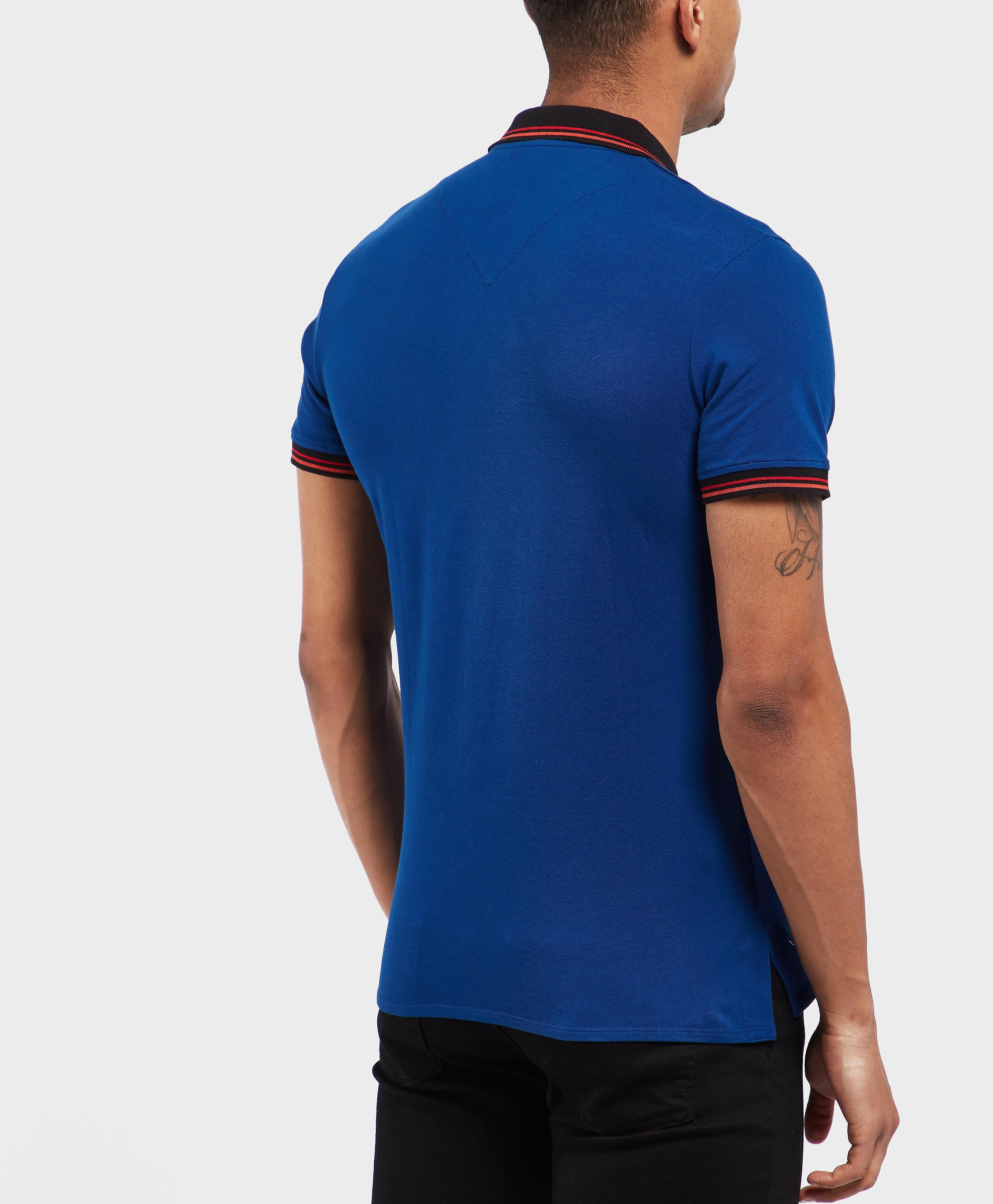 Just Cavalli Dice Short Sleeve Polo Shirt