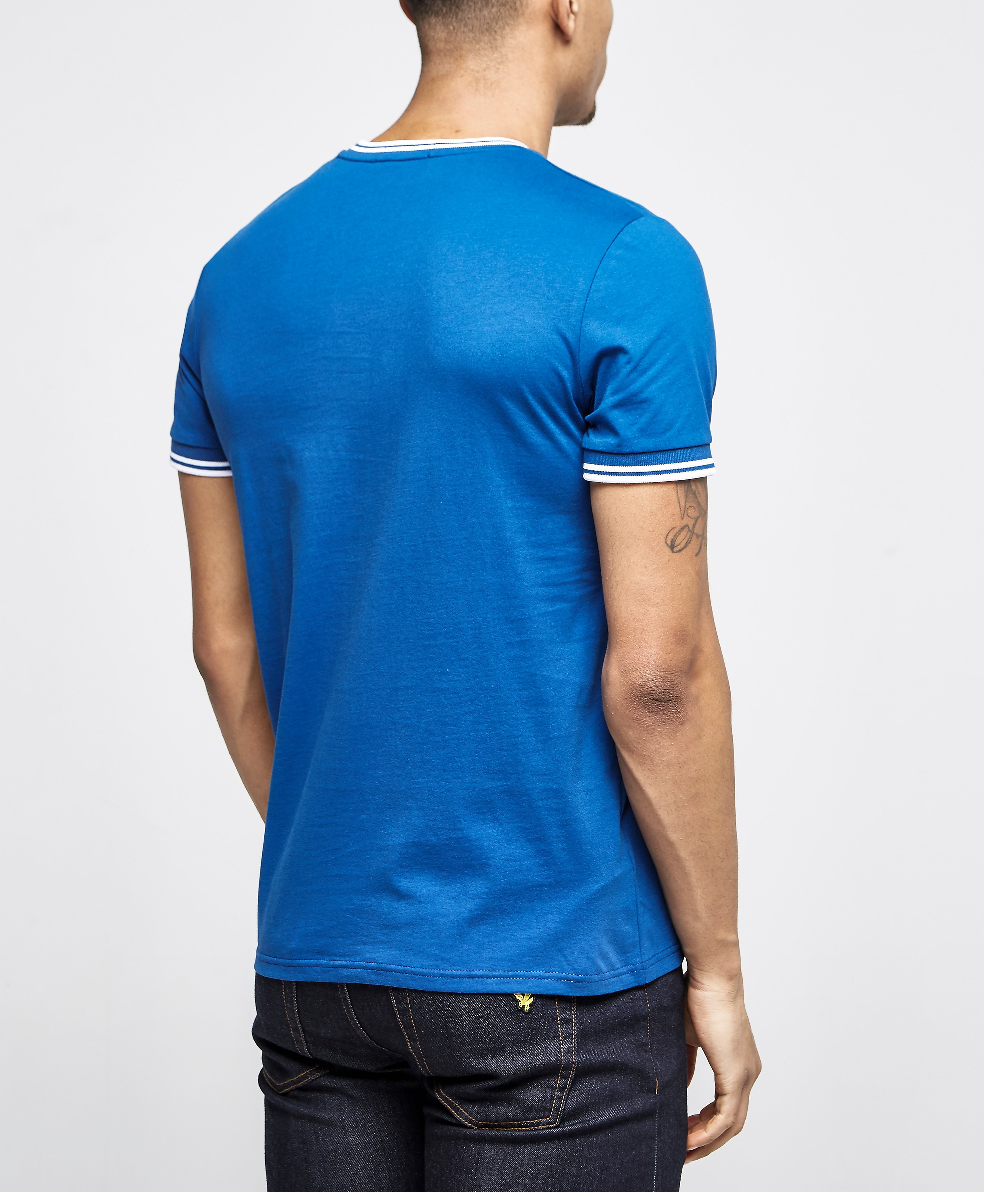 Fred Perry Tipped Crew T-Shirt - Exclusive