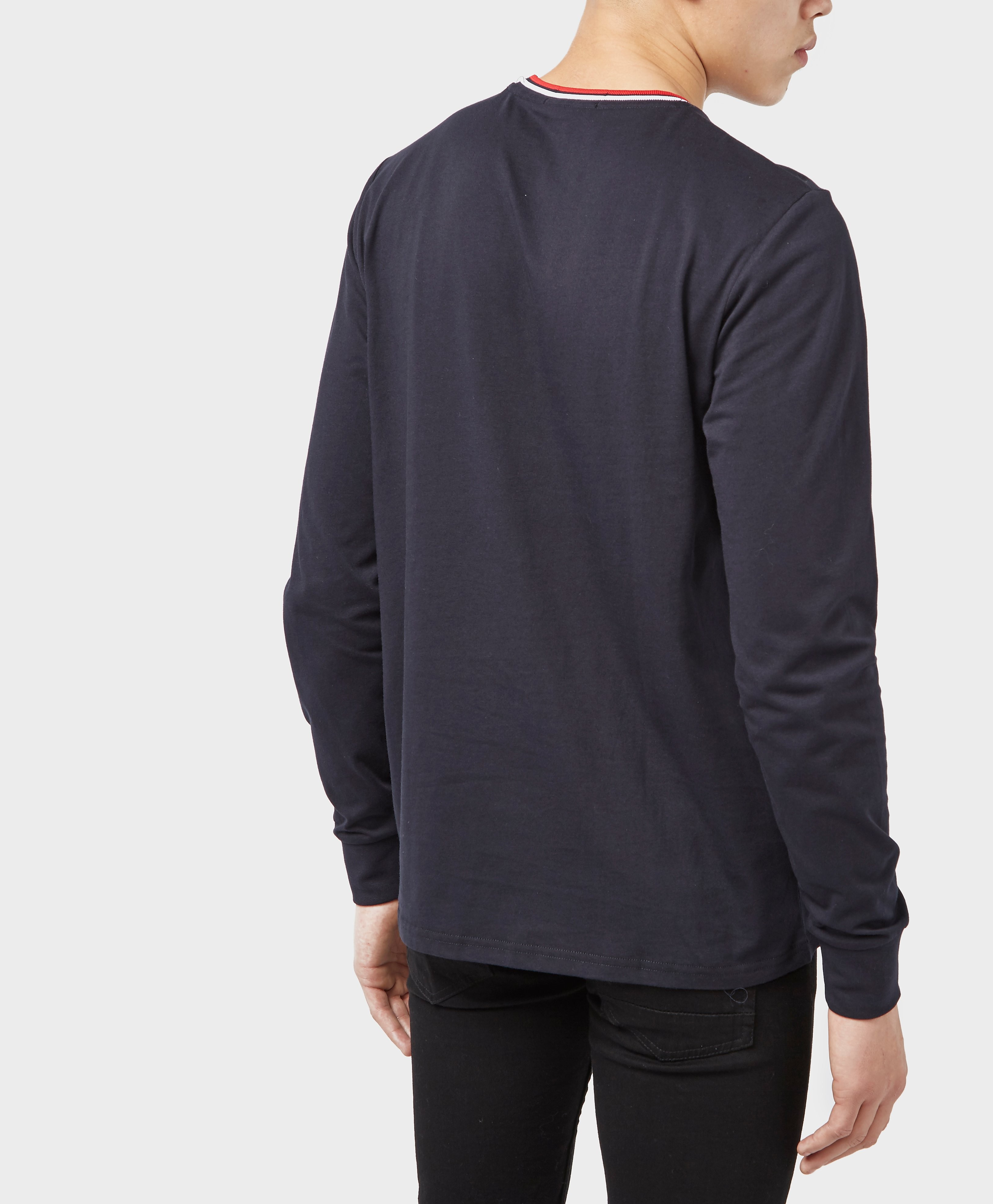 Fred Perry Tipped Long Sleeve T-Shirt