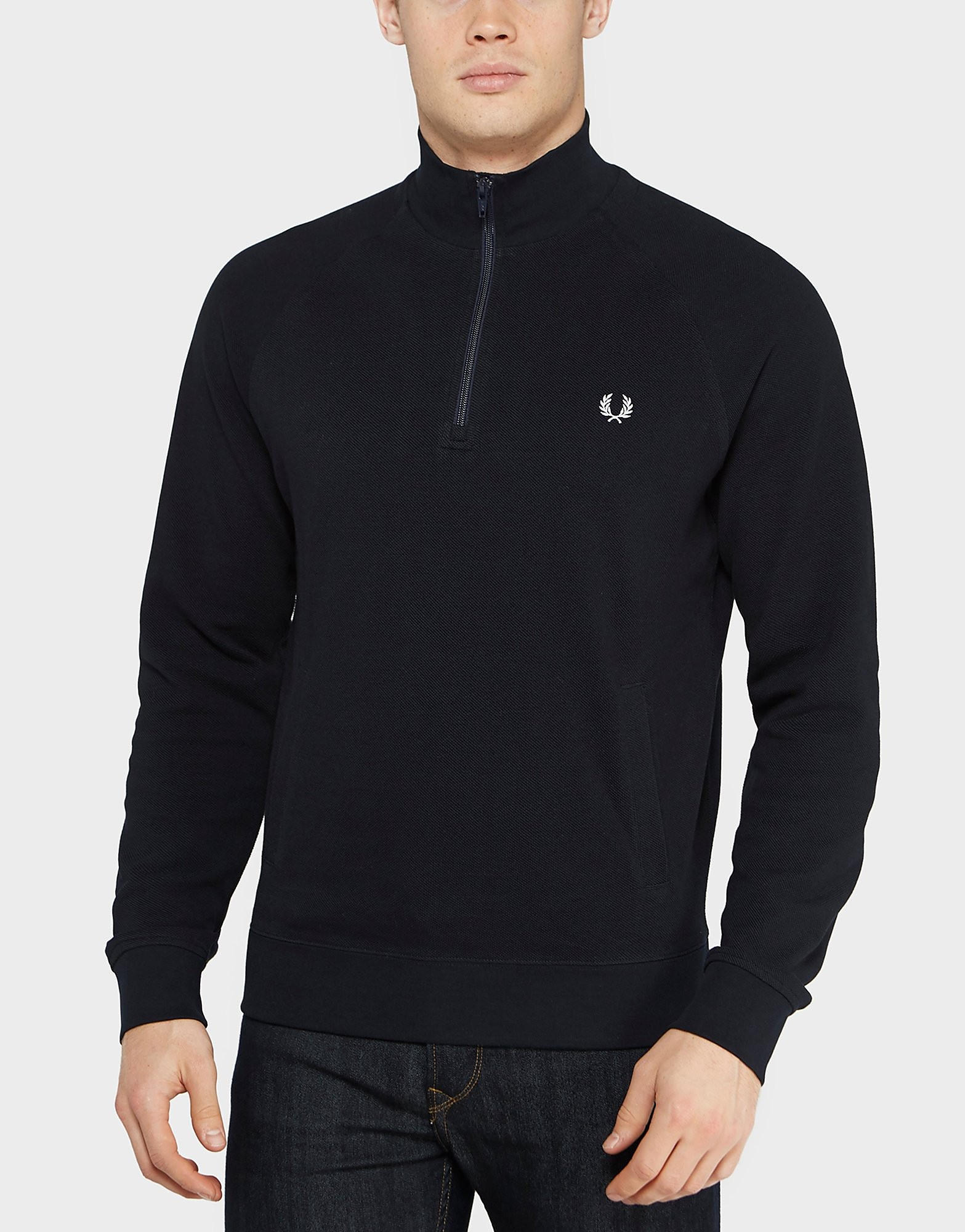 Fred Perry 1/2 Zip Pique Knit