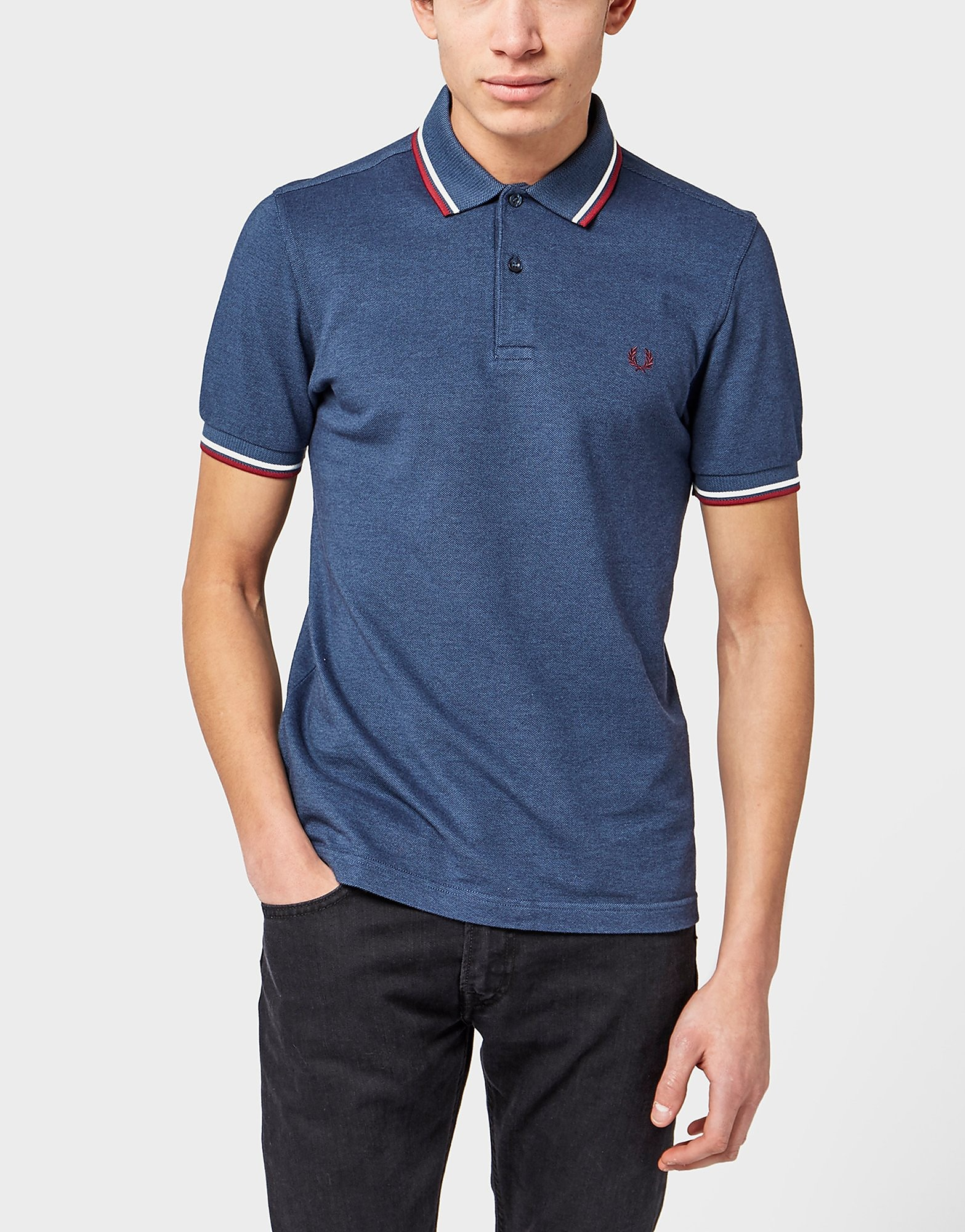 Fred Perry Twin-Tip Oxford Polo Shirt