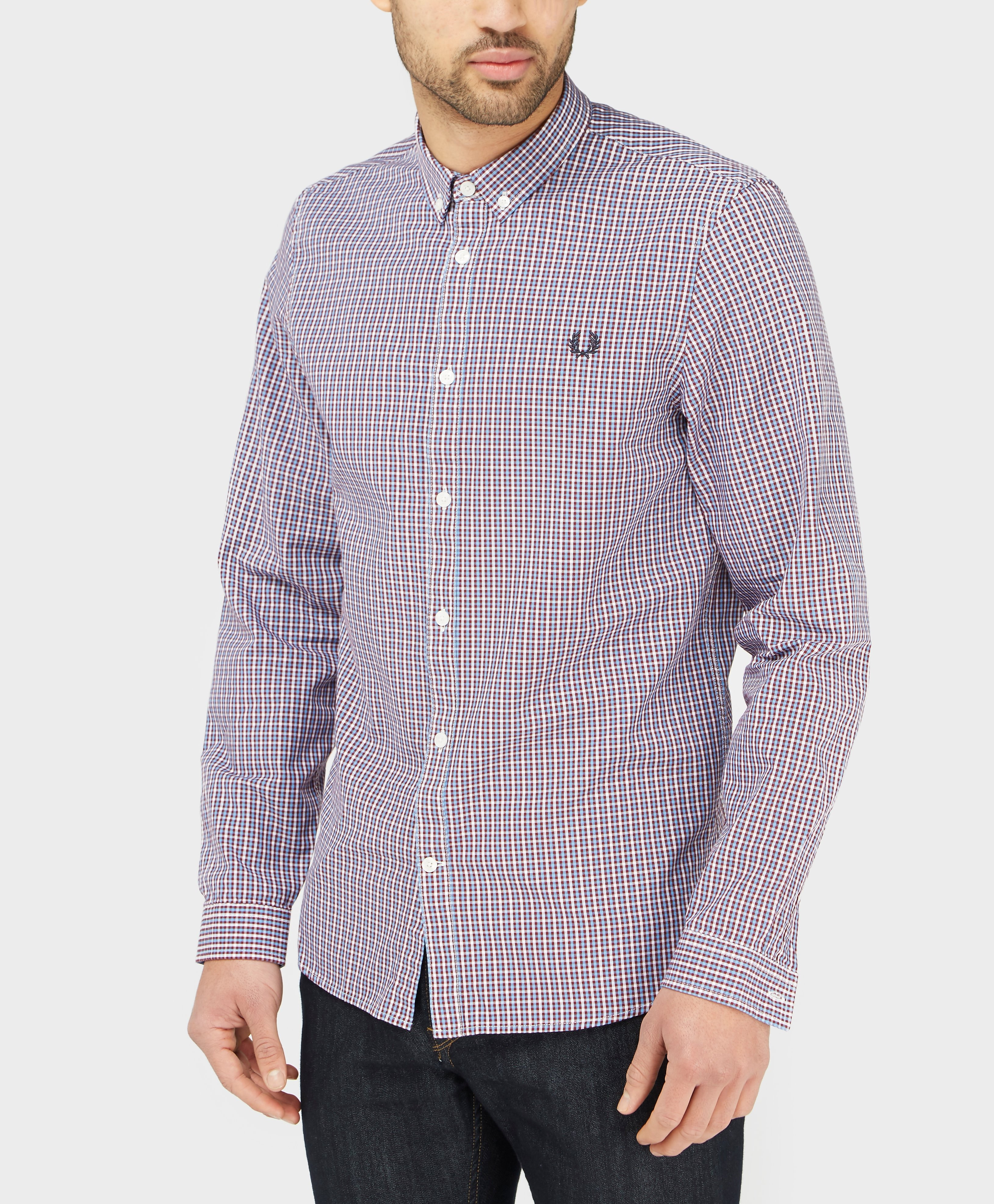 Fred Perry Basket Woven Shirt