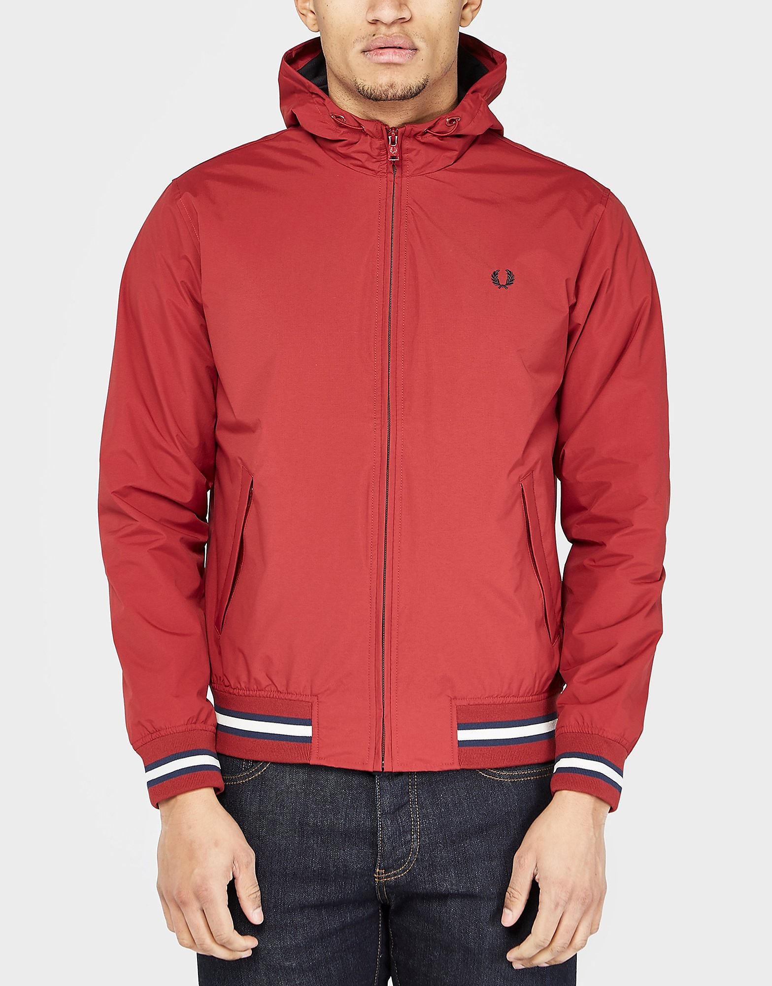 Fred Perry Brentham Hooded Lighrtweight Jacket
