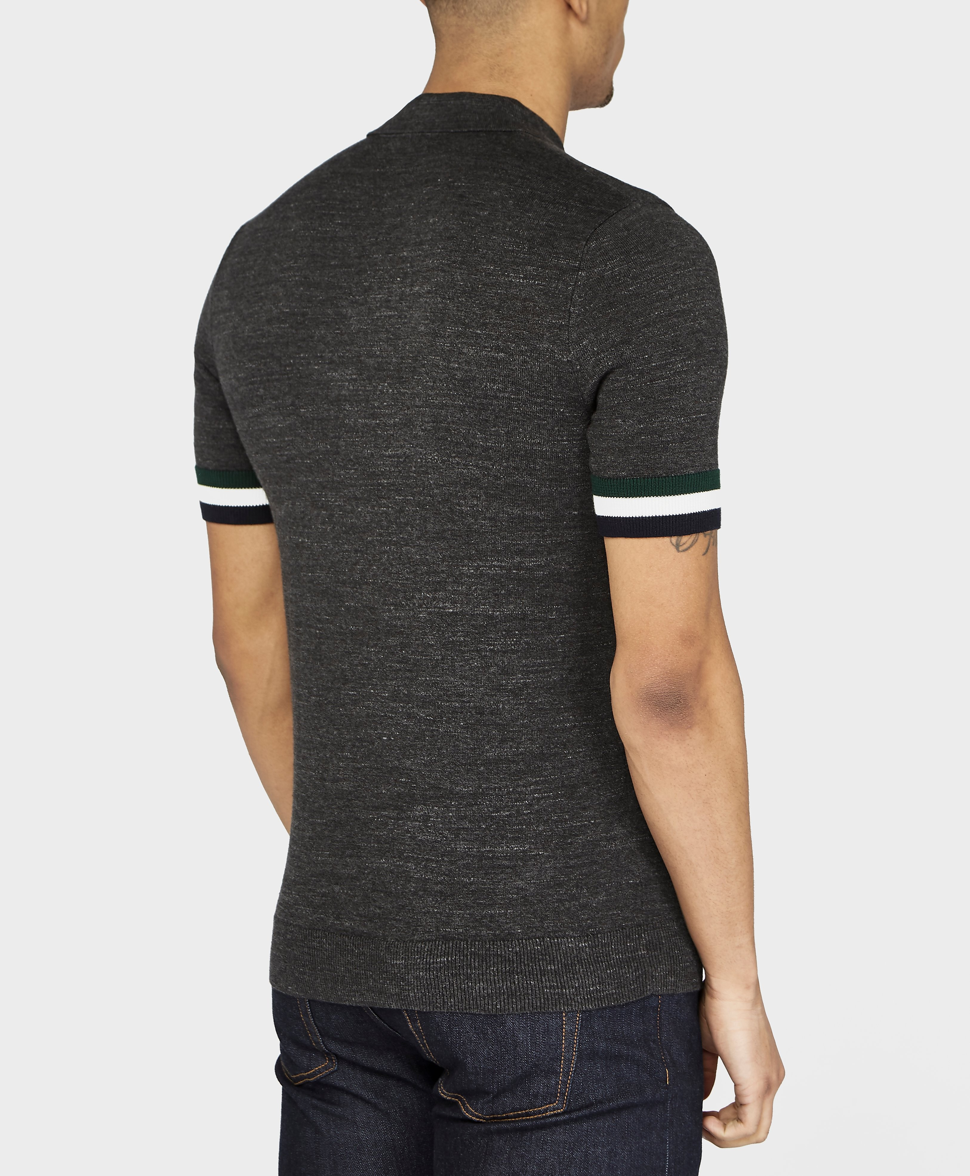 Fred Perry Stripe Custom Fit Polo Shirt