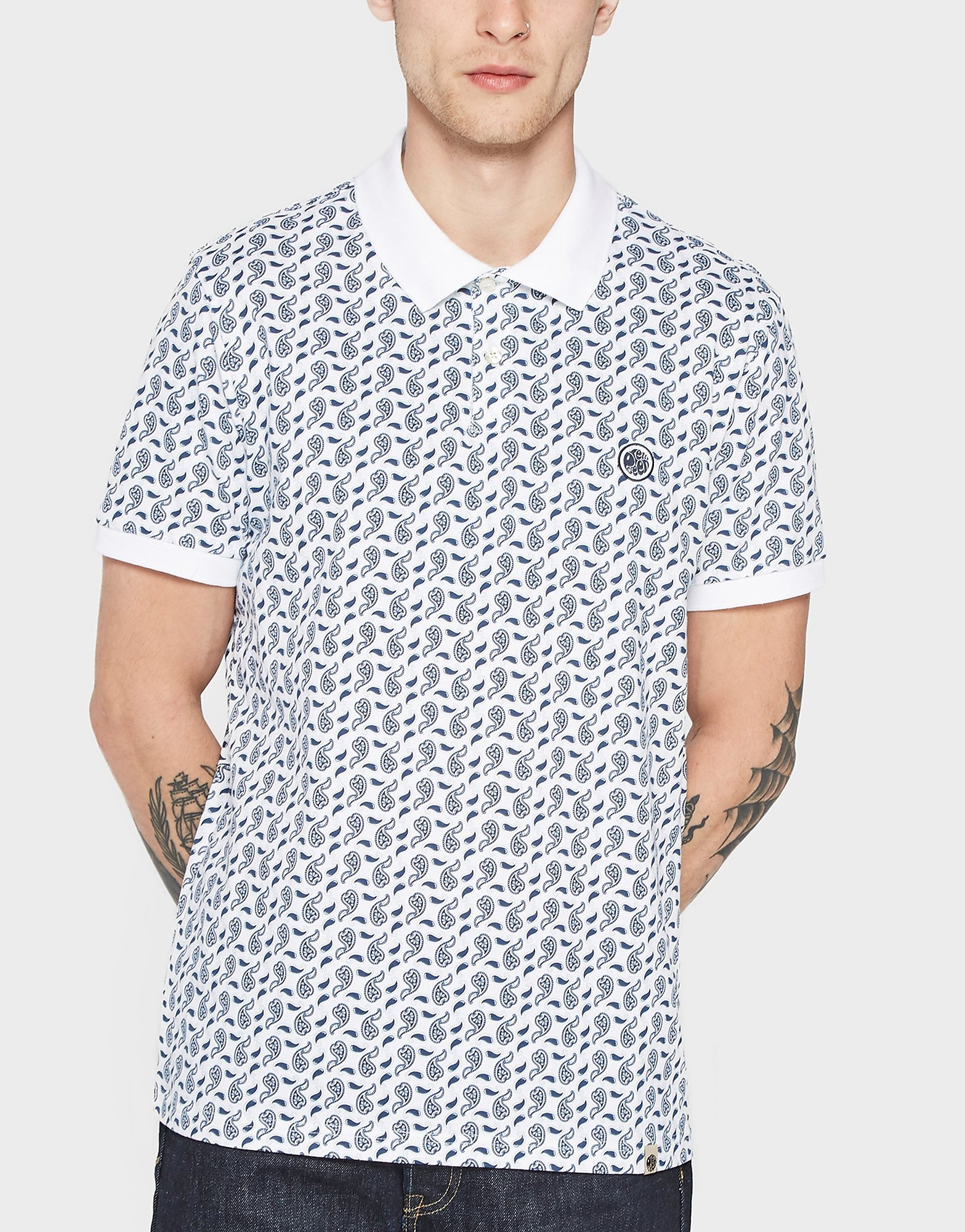 Pretty Green Paisley Polo Shirt - Exclusive