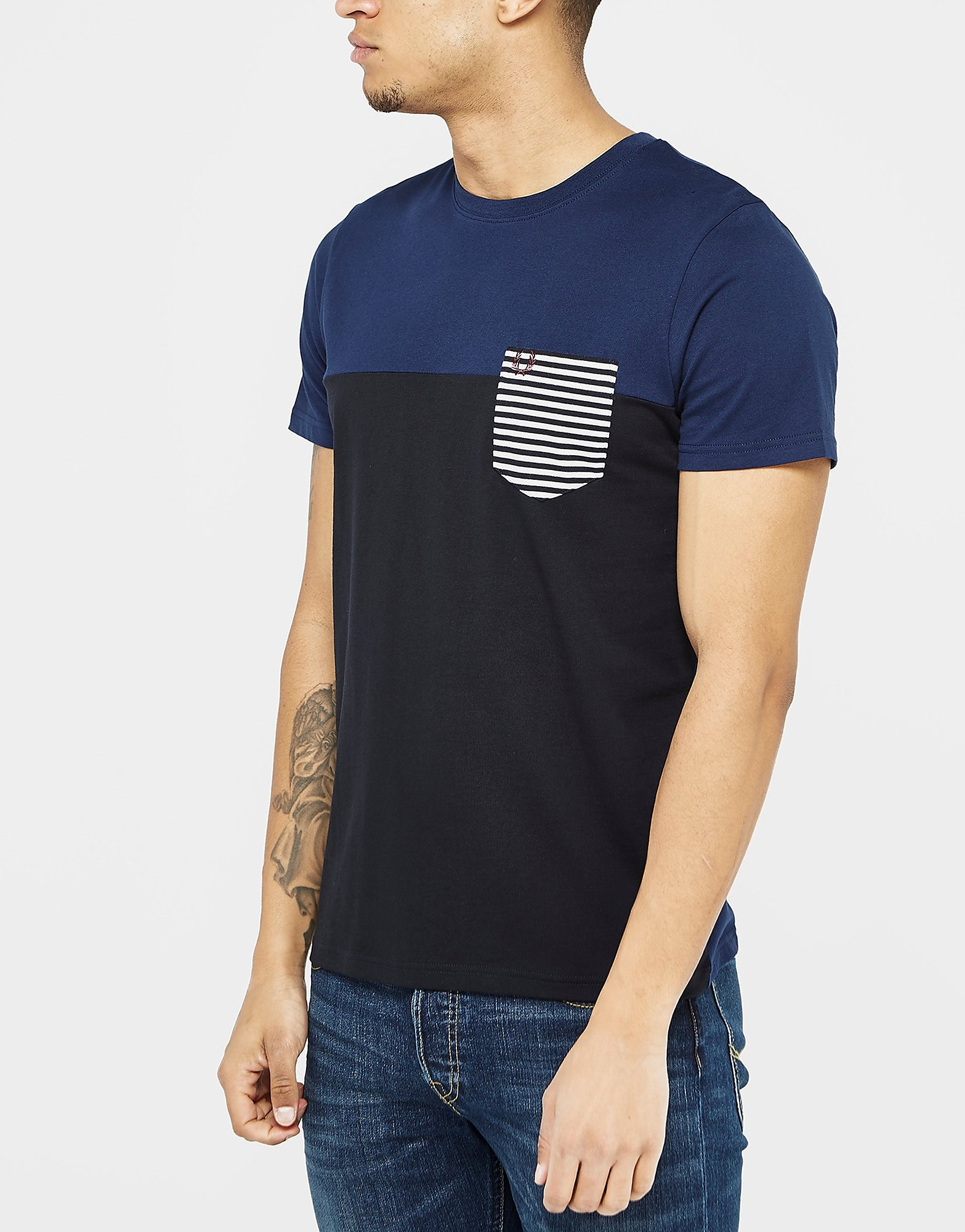 Fred Perry Stripe Pocket T-Shirt