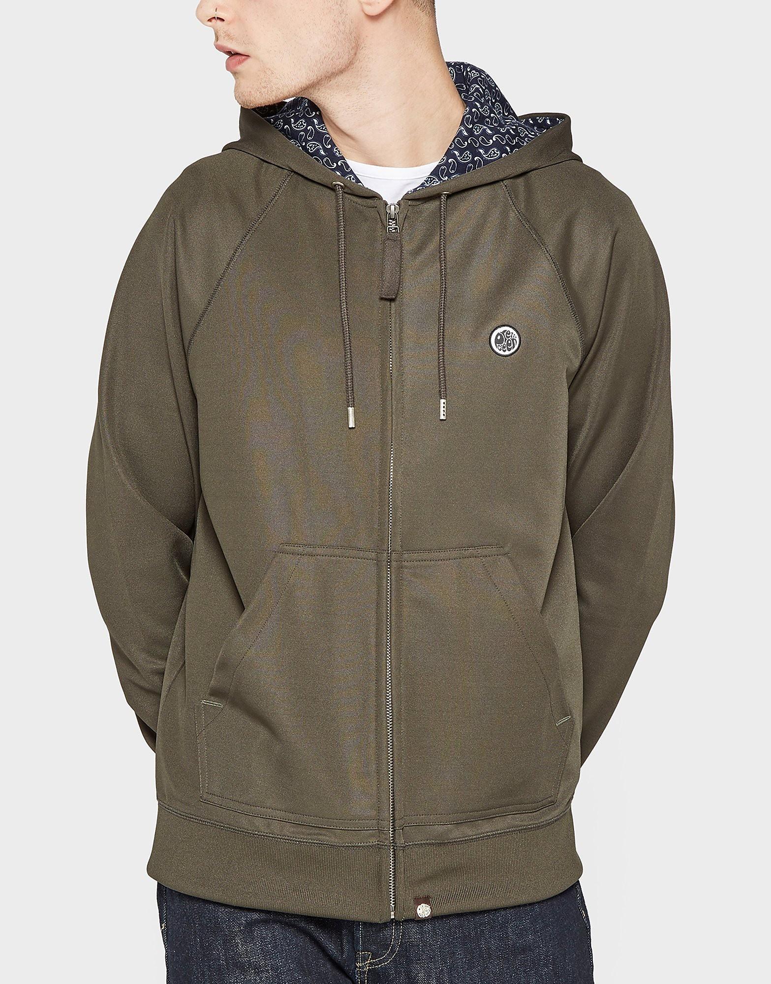 Pretty Green Full-Zip Pique Hooded Jacket