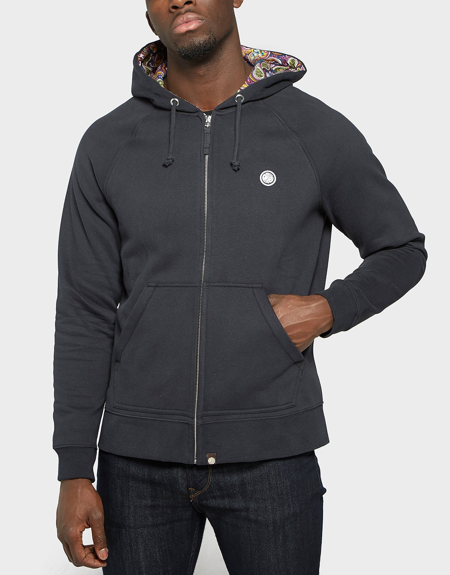 Pretty Green Raynham Paisley Hooded Jacket
