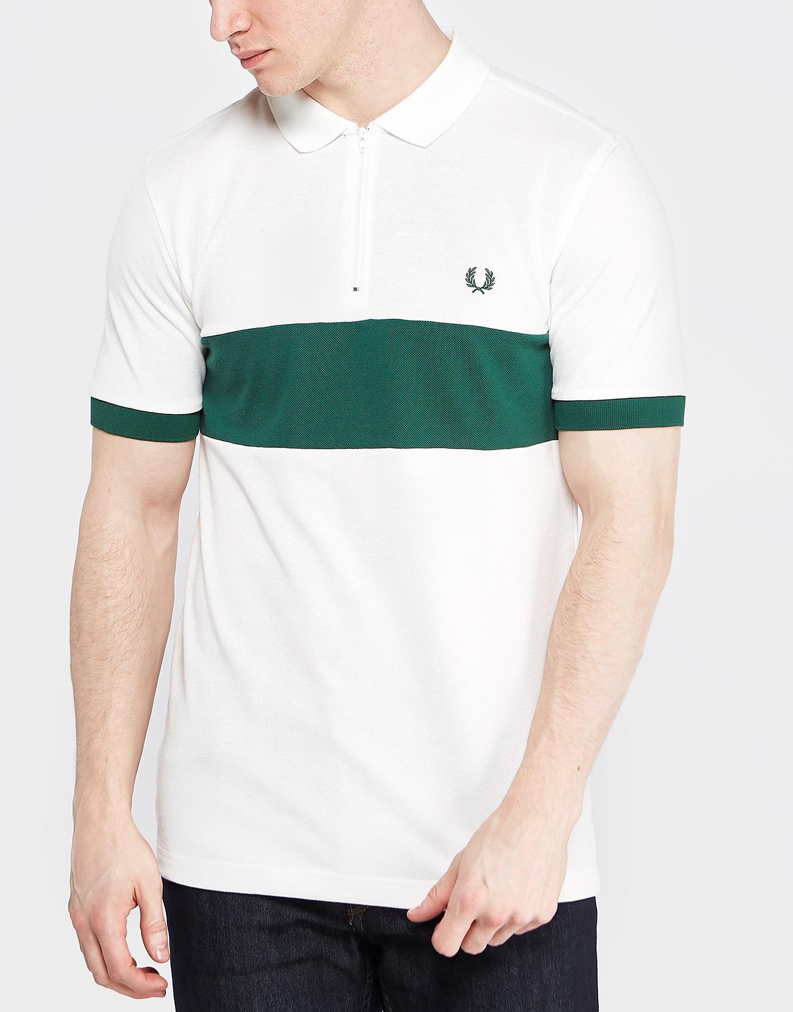 Fred Perry Chest Panel Pique Polo Shirt