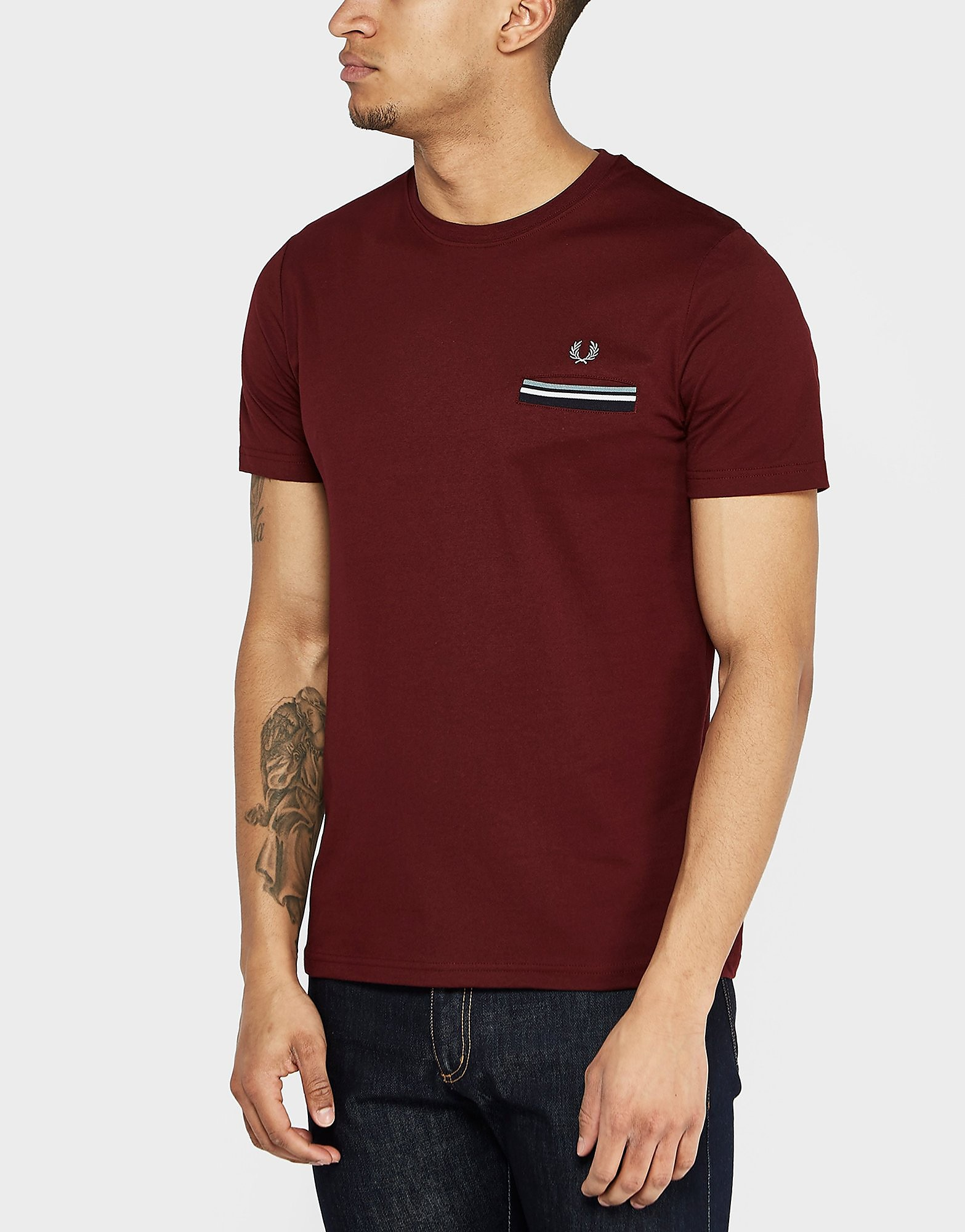 Fred Perry Tipped Pocket T-Shirt