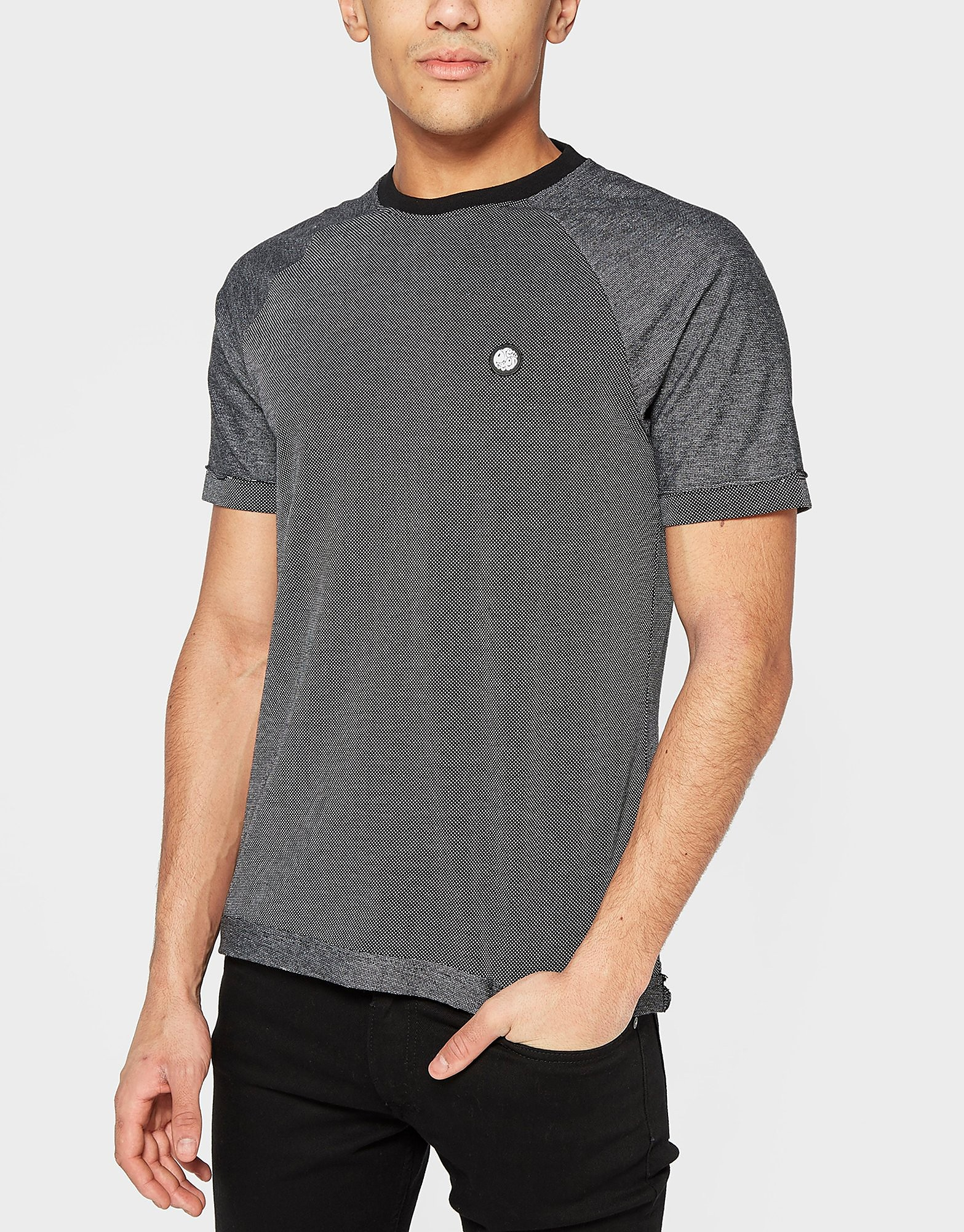 Pretty Green Rowsley Pique Crew Short Sleeve T-Shirt