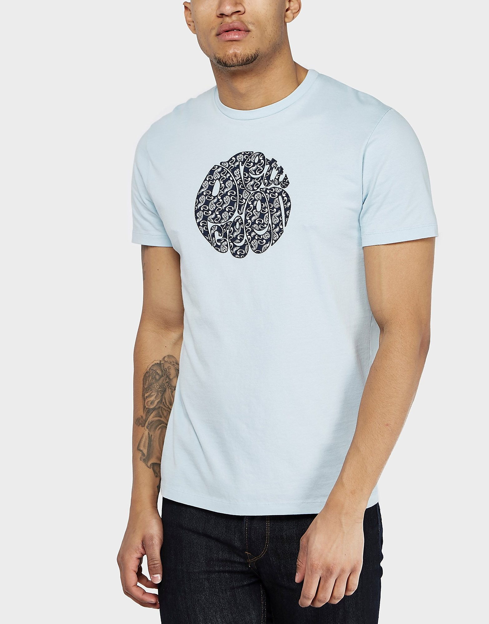 Pretty Green Paisley Applique T-Shirt - Exclusive
