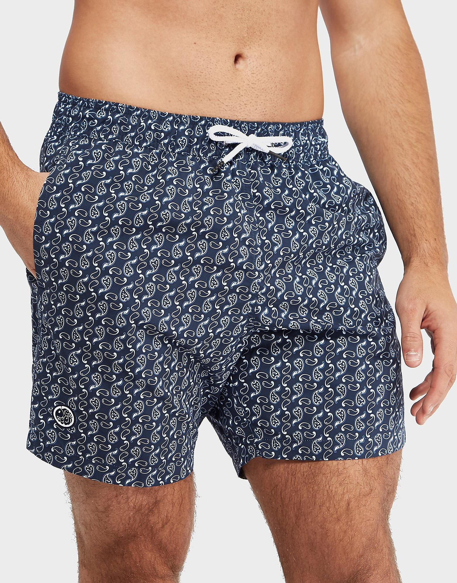 Pretty Green AOP Paisley Swim Shorts - Exclusive