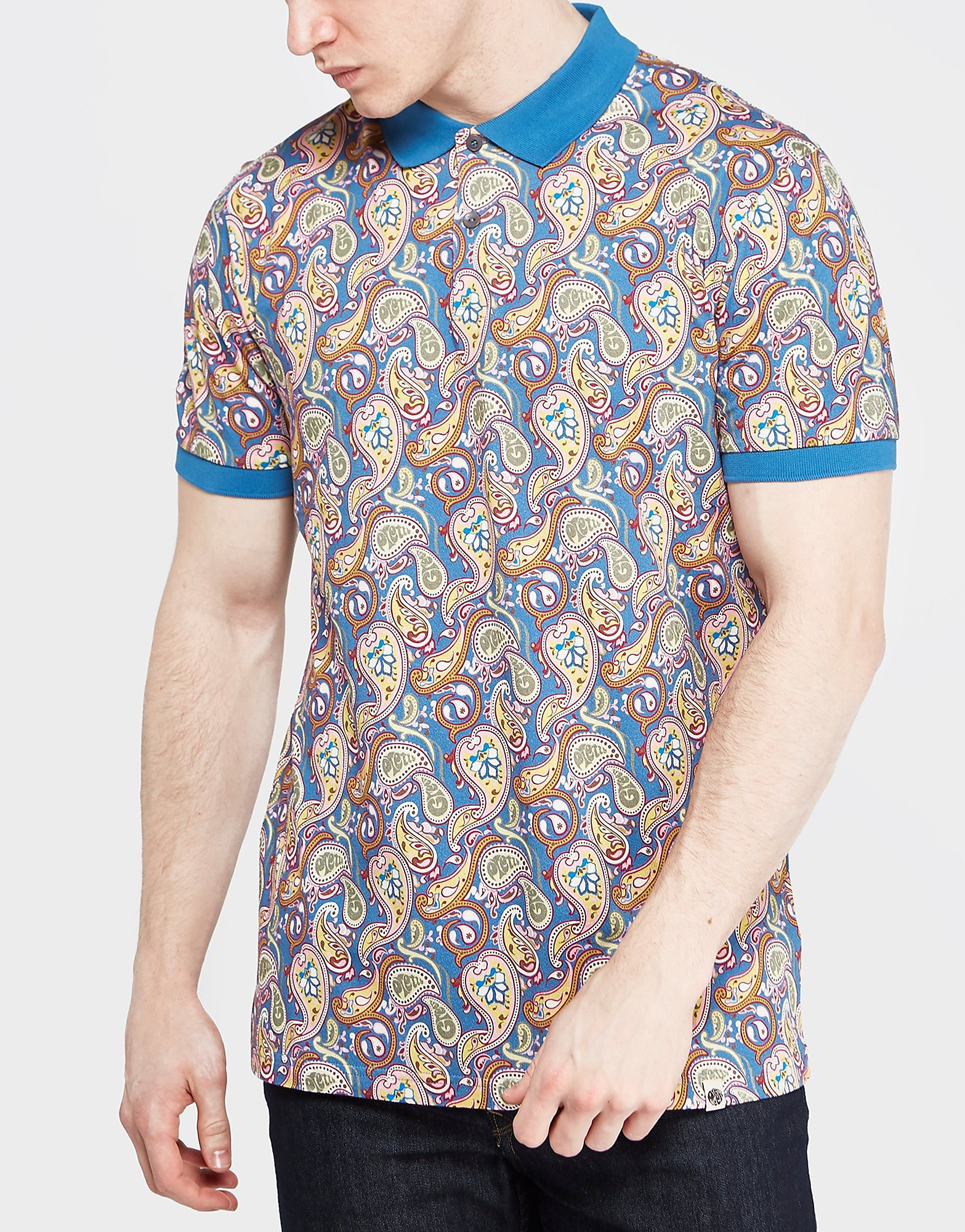 Pretty Green Vintage Paisley Polo Shirt