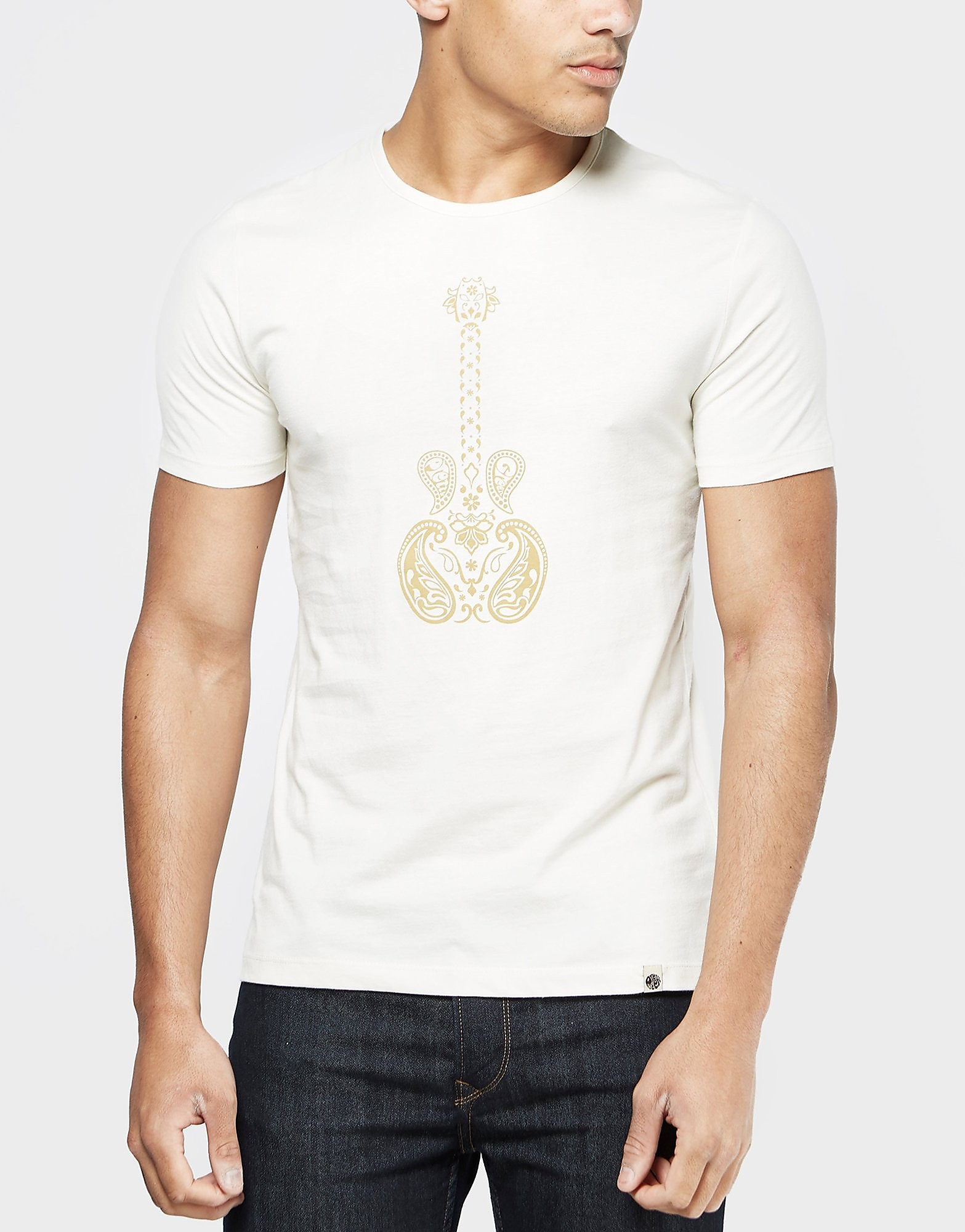Pretty Green Paisley Guitar T-Shirt