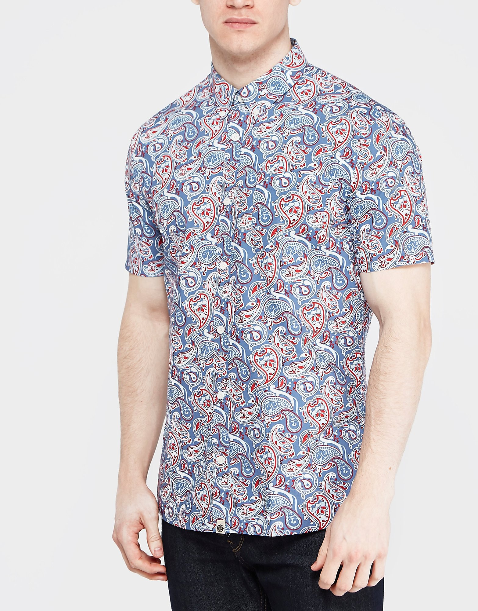 Pretty Green Camley Paisley Shirt