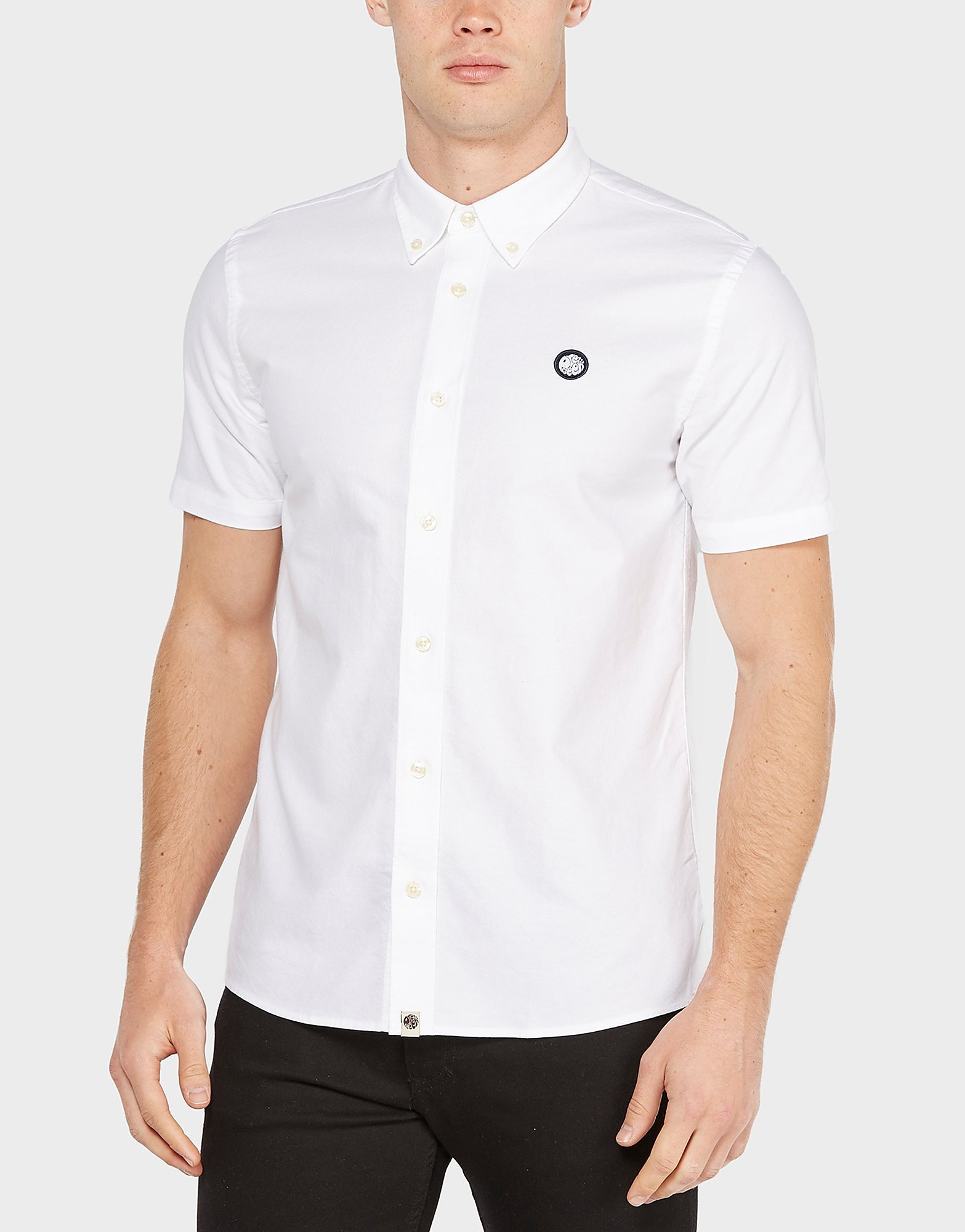 Pretty Green Short Sleeve Oxford Shirt