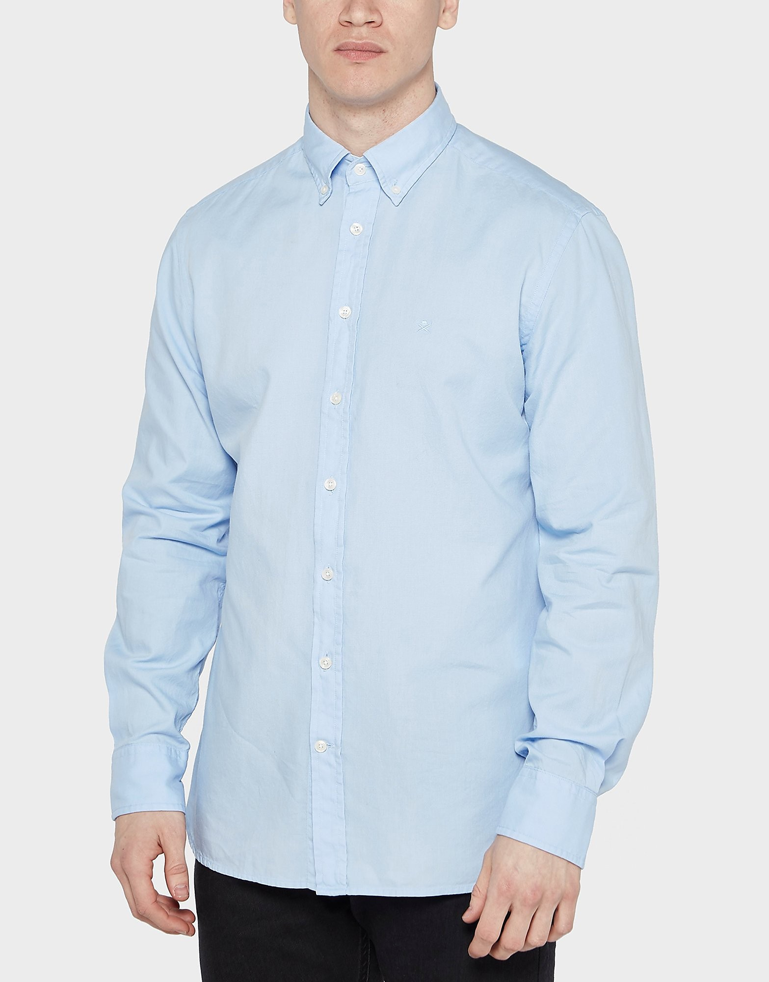 HACKETT Long Sleeve Oxford Shirt