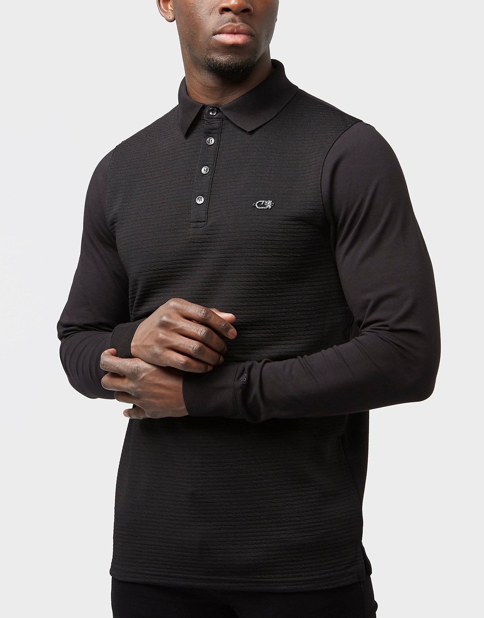 Cruyff Affelay Long Sleeve Polo Shirt